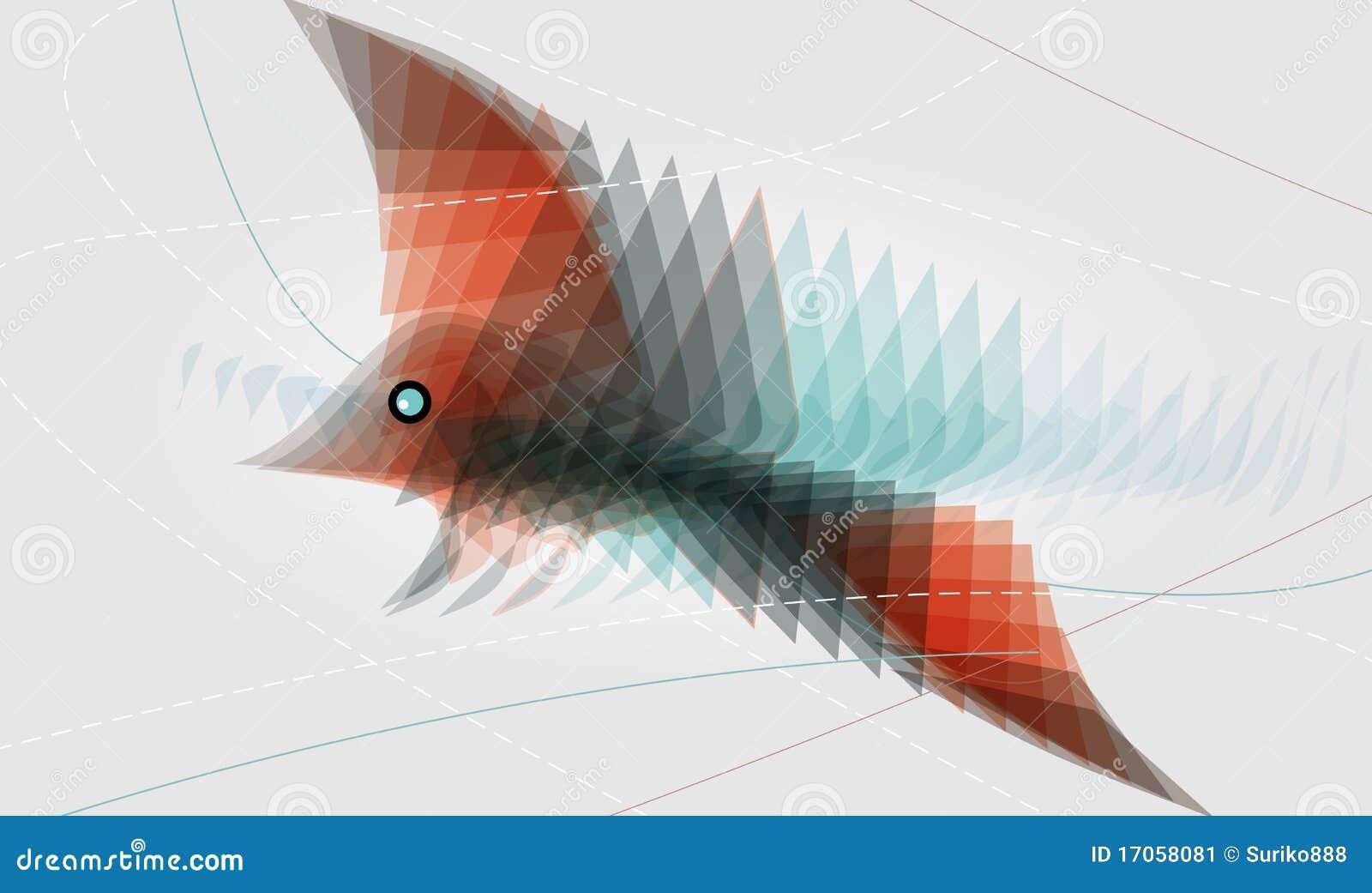 αφηρημένο πουλί