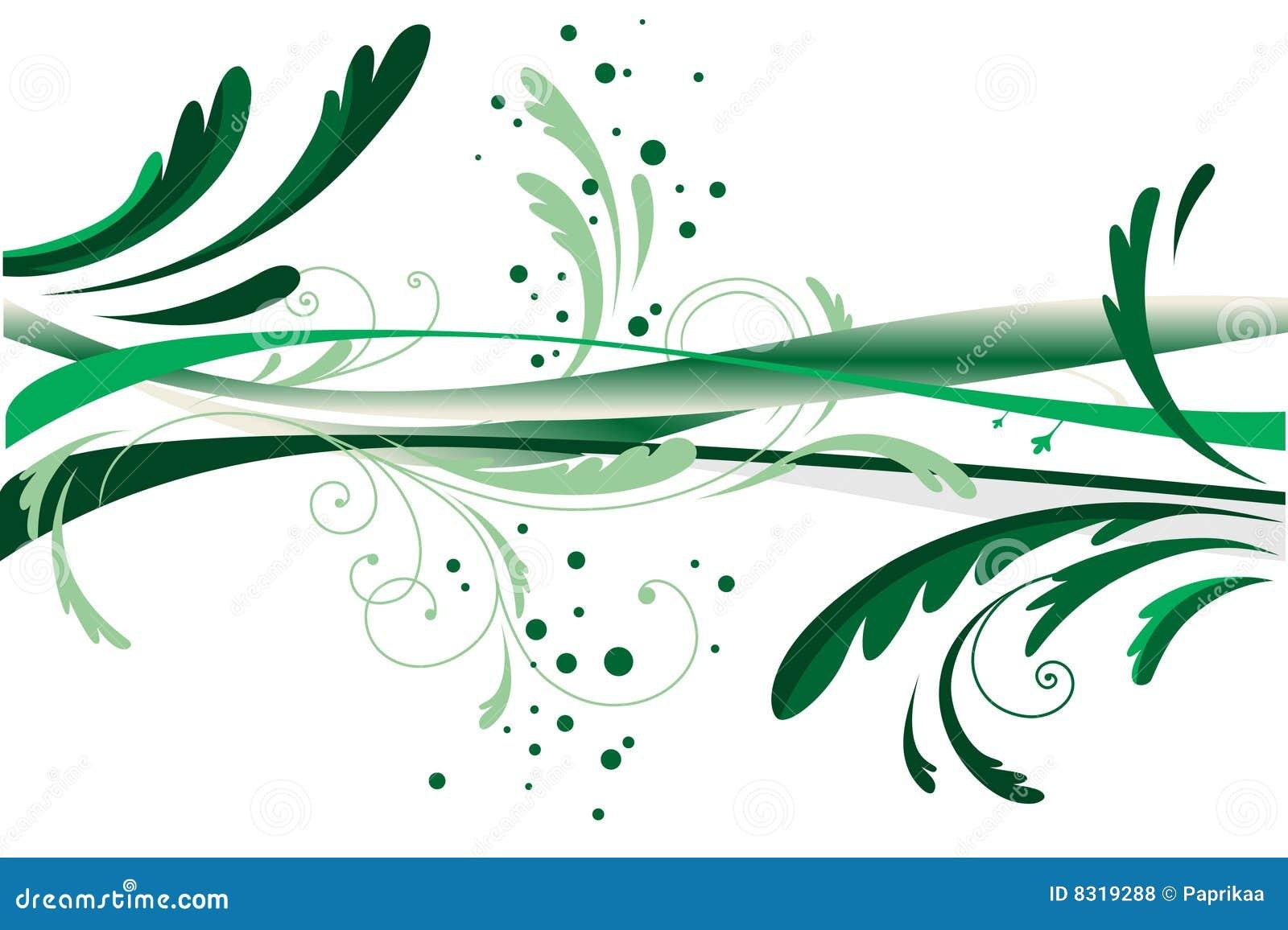 αφηρημένο σχέδιο πράσινο