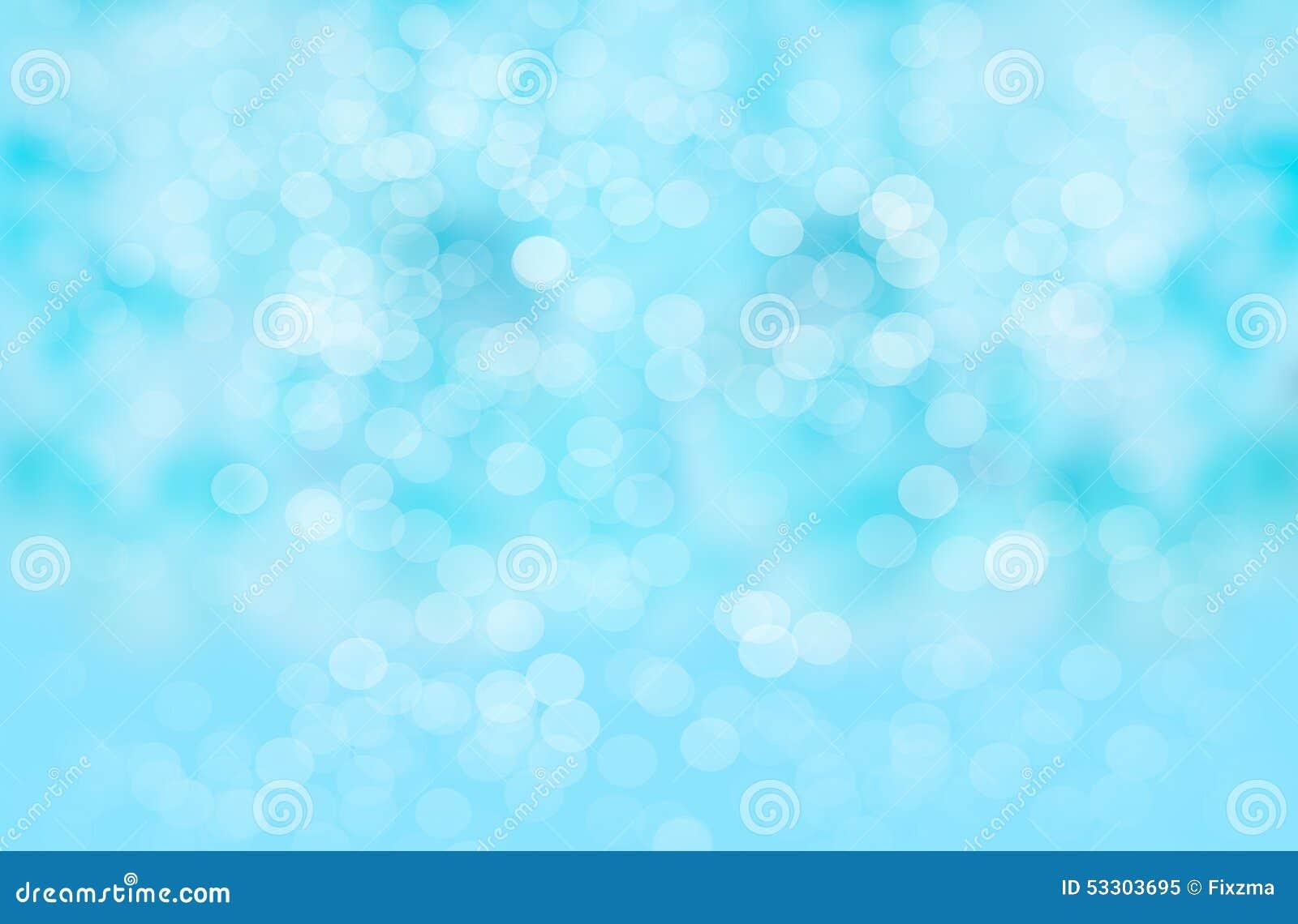 Αφηρημένο υπόβαθρο θαμπάδων: Όμορφο μπλε Bokeh