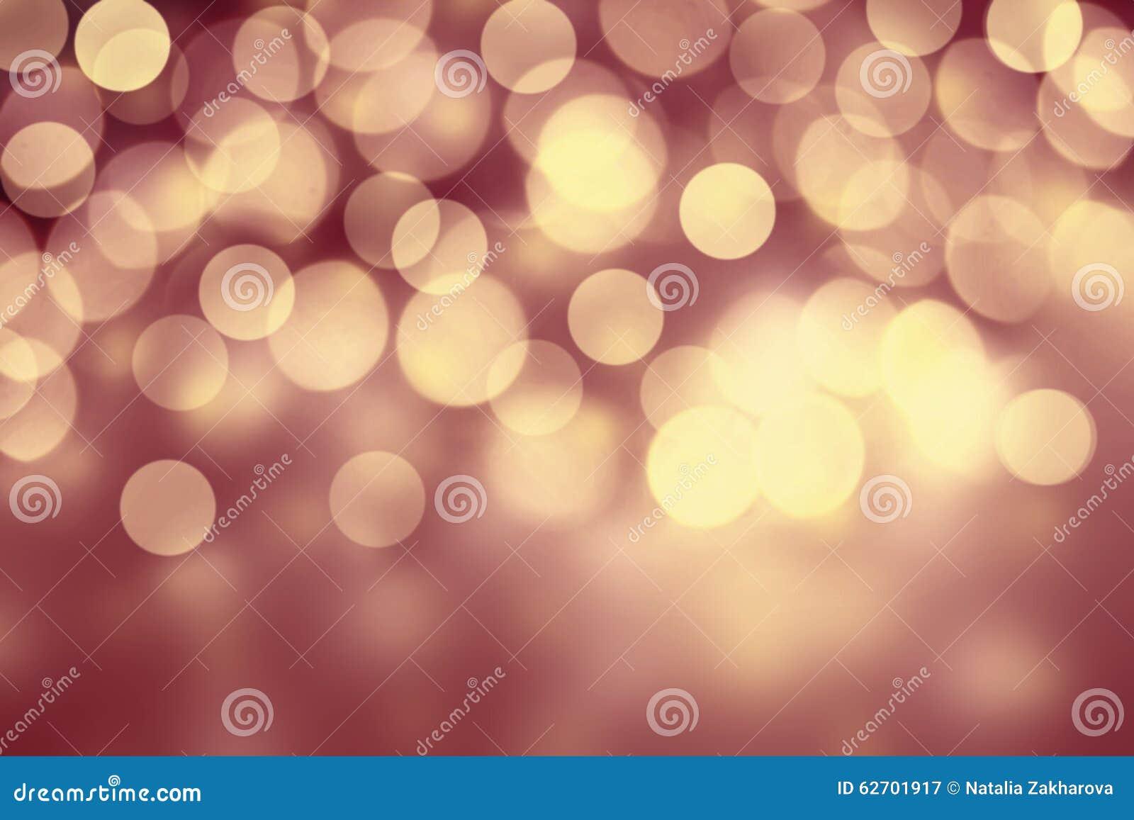 Αφηρημένο υπόβαθρο Χριστουγέννων Bokeh με snowflakes και τη θέση FO