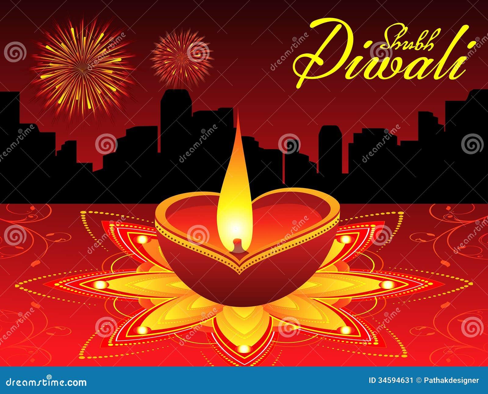 Αφηρημένο υπόβαθρο diwali