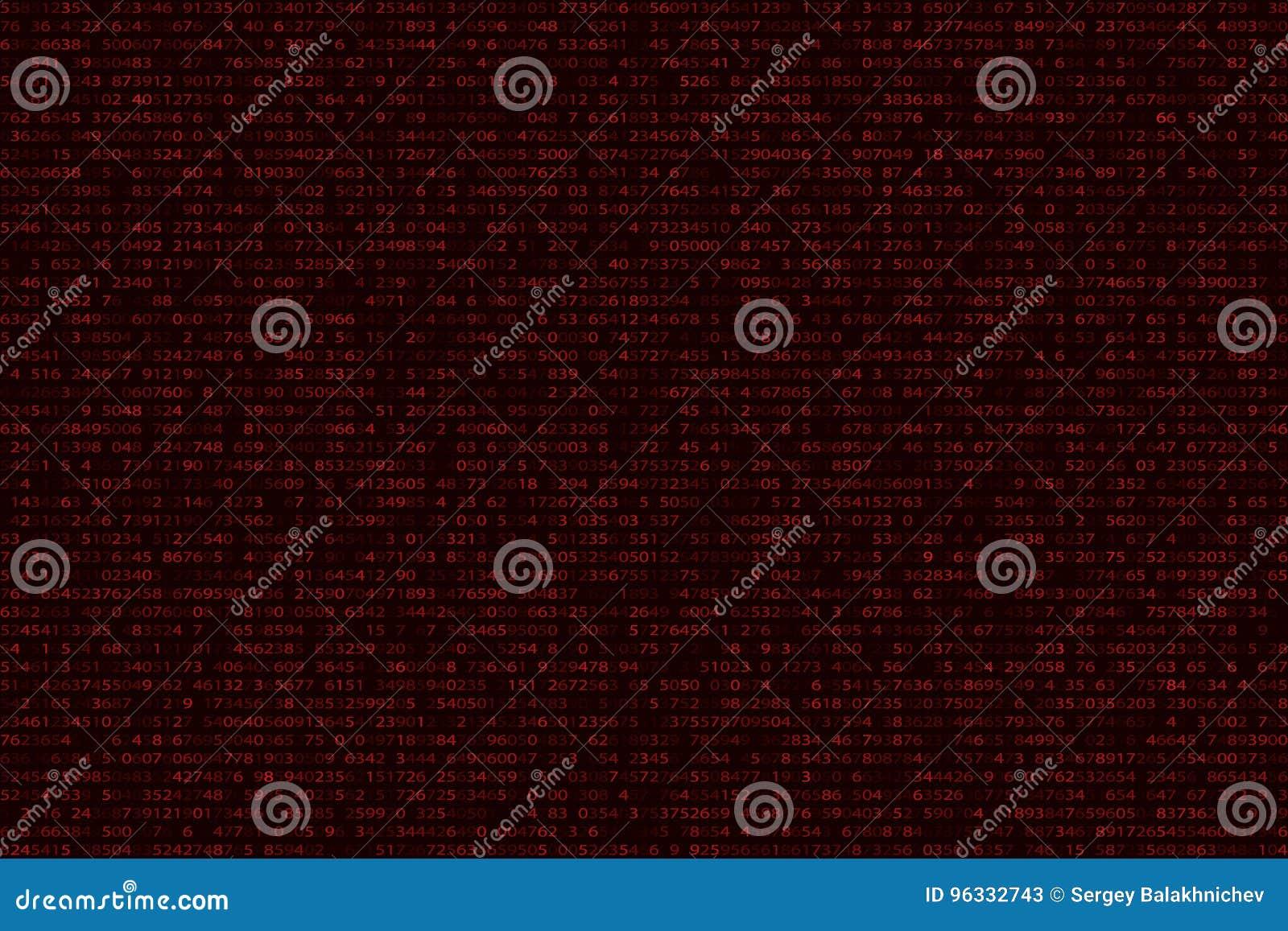 Αφηρημένο φουτουριστικό υπόβαθρο από έναν δυαδικό κώδικα σε ένα μαύρο υπόβαθρο Προγραμματισμός Ιστού στο σχέδιο σύγχρονες τεχνολο