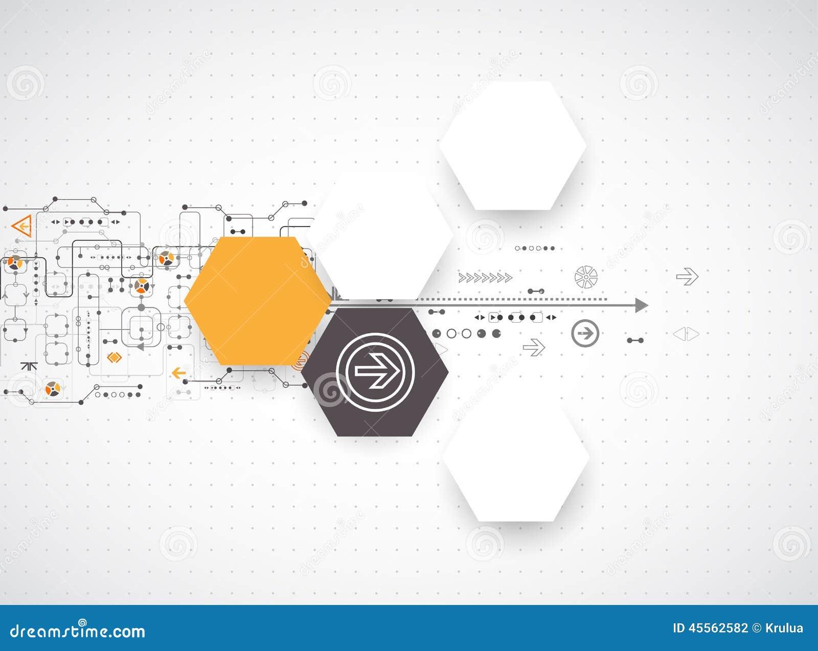 Αφηρημένο φουτουριστικό υπόβαθρο τεχνολογίας υπολογιστών