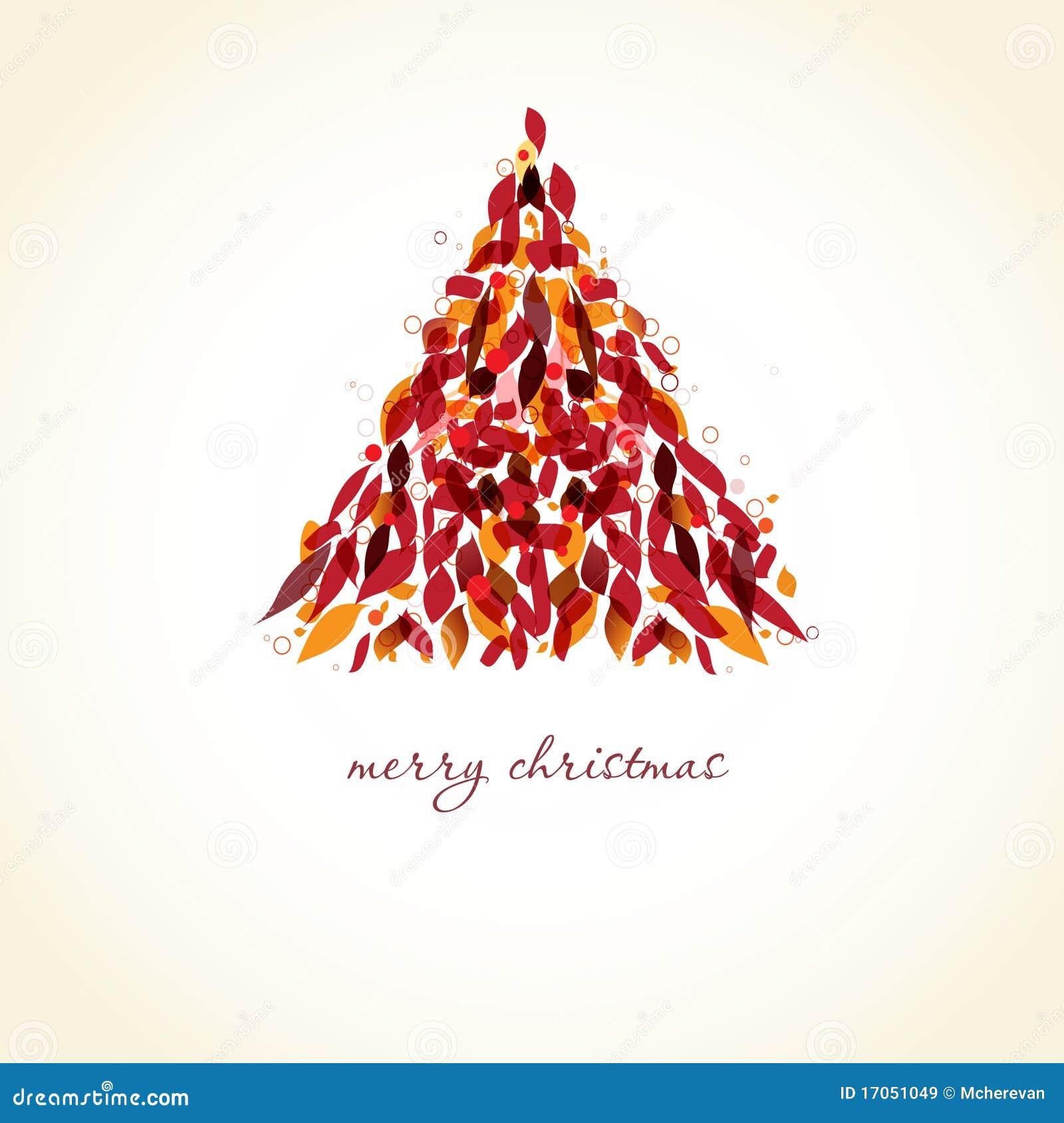 αφηρημένο χριστουγεννιάτ&