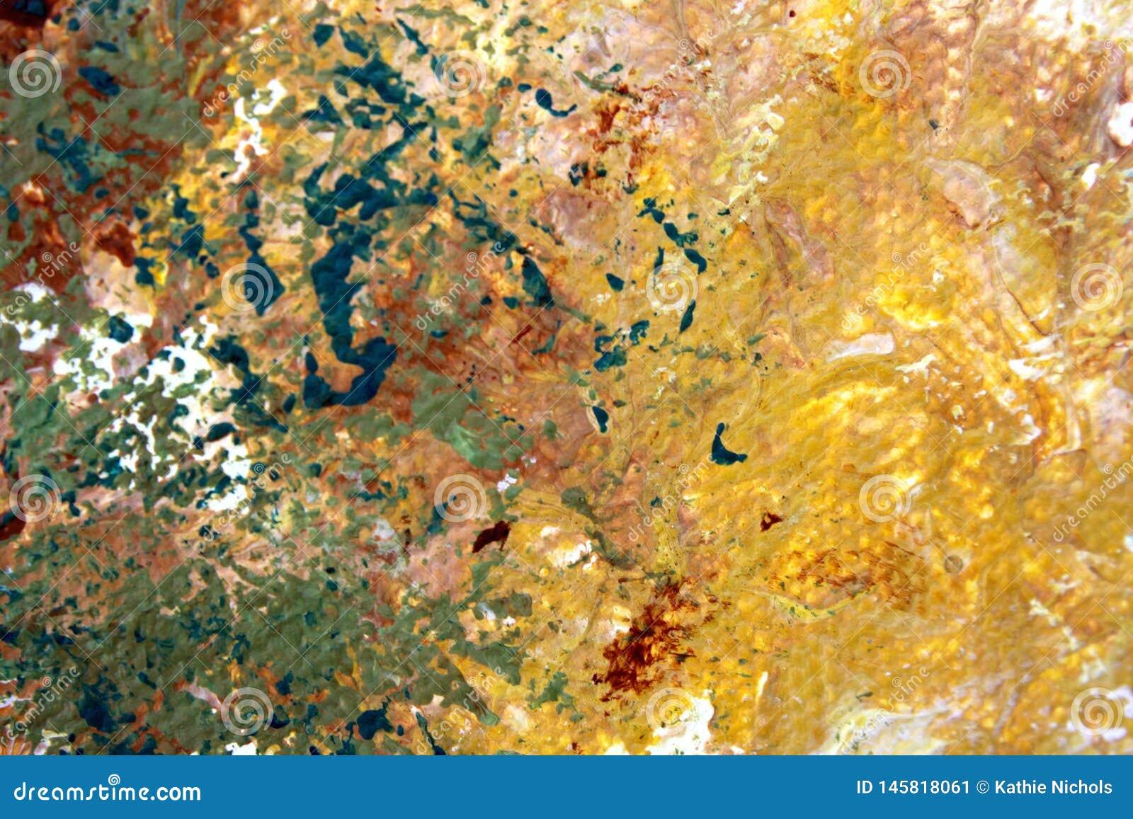 Αφηρημένο χρωματισμένο Expressionist υπόβαθρο, συστάσεις τέχνης
