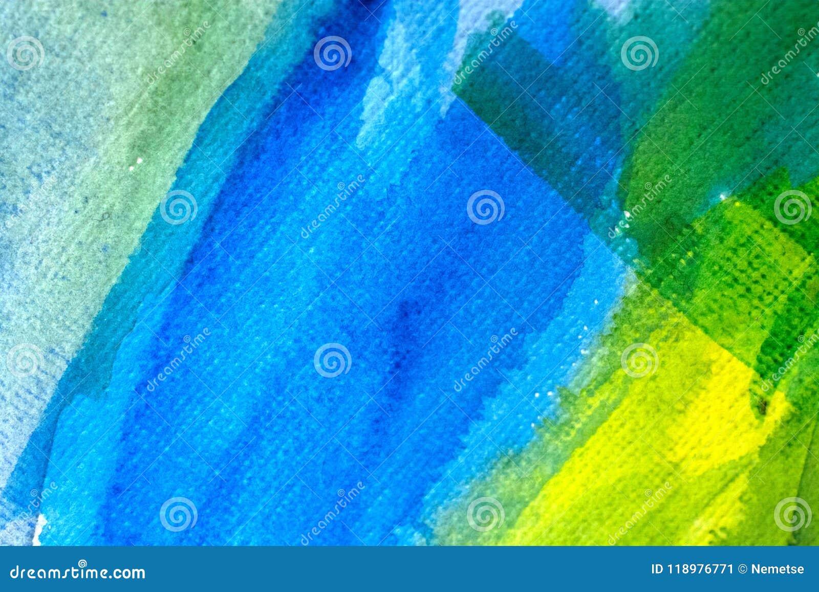 Αφηρημένο χρώμα τέχνης