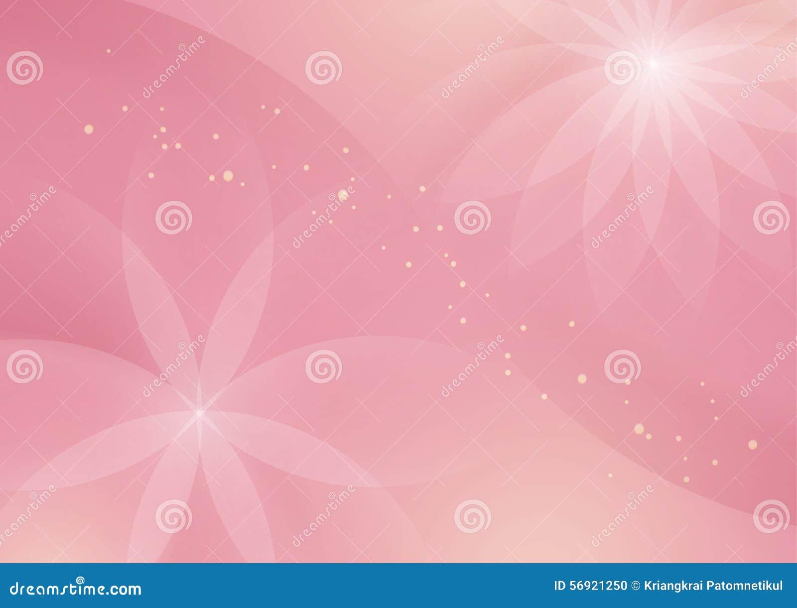 Αφηρημένο Floral ανοικτό ροζ υπόβαθρο για το σχέδιο