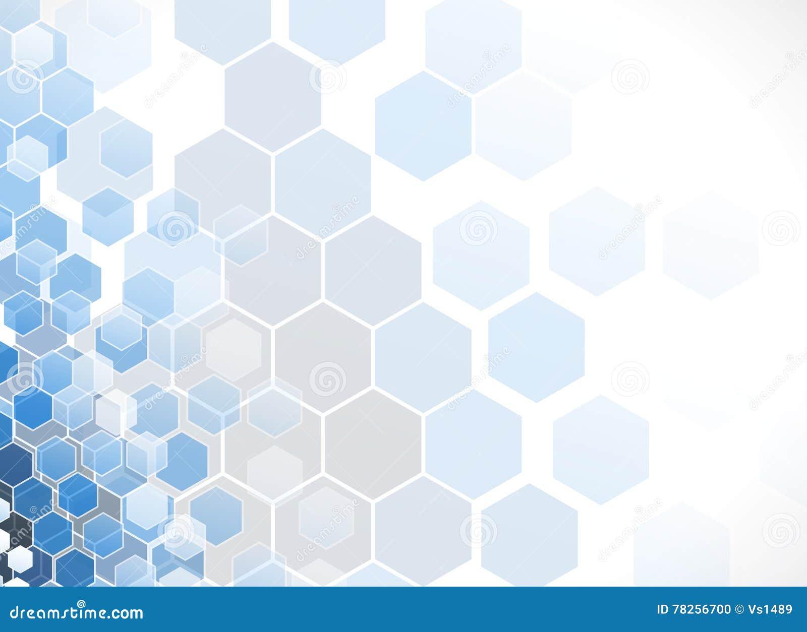 αφηρημένο hexagon ανασκόπησης Polygonal σχέδιο τεχνολογίας Digita