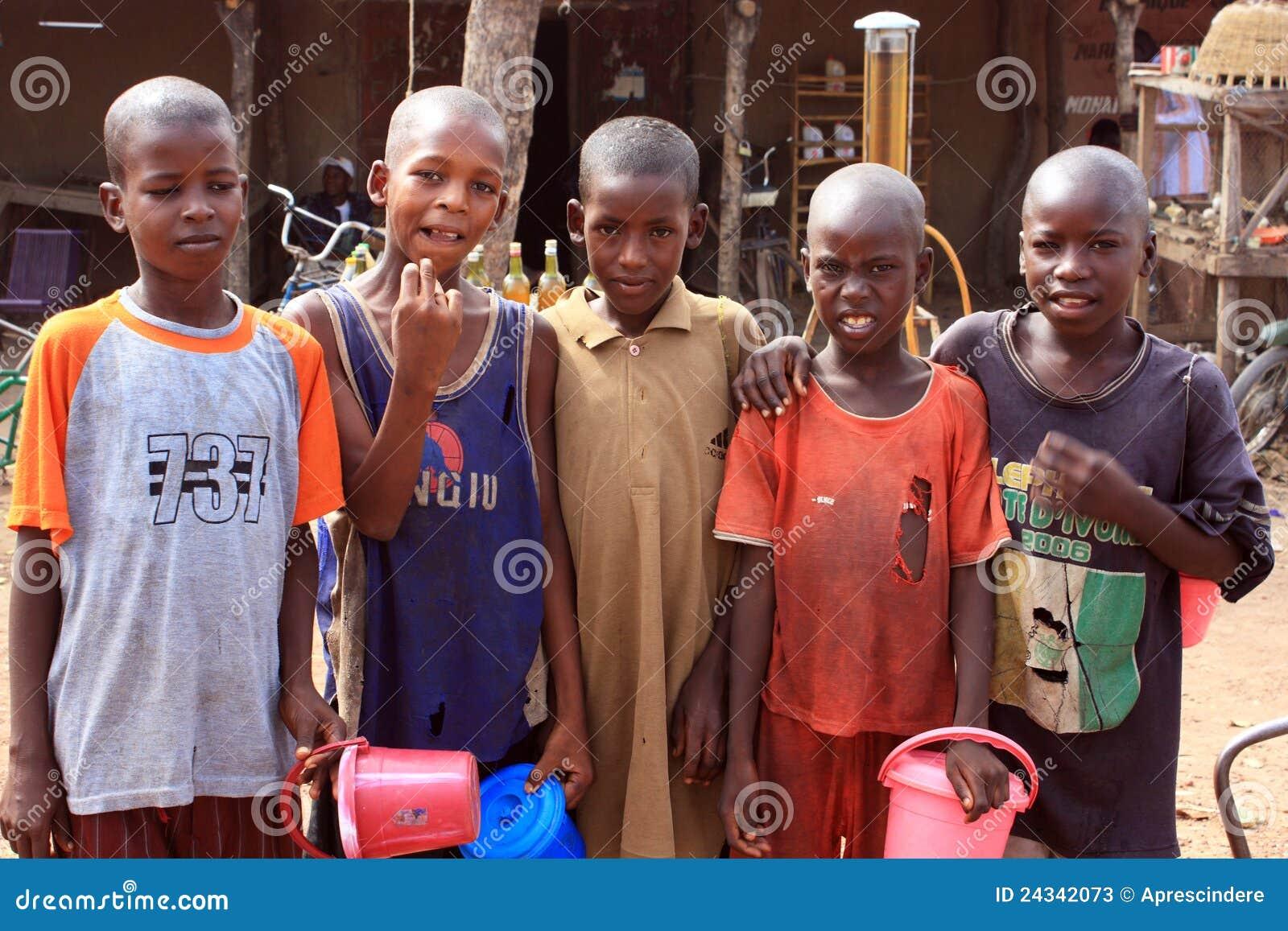 αφρικανικά αγόρια