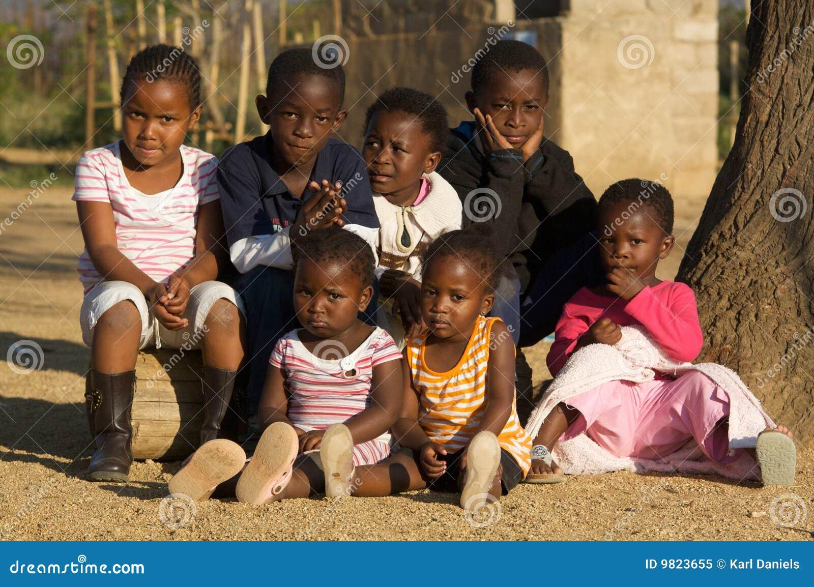 αφρικανικά παιδιά