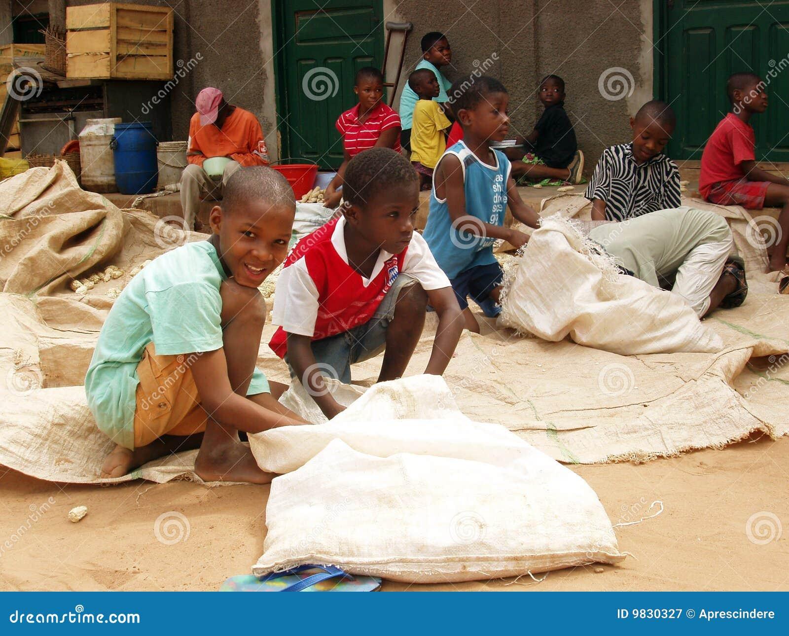 αφρικανική εργασία παιδι