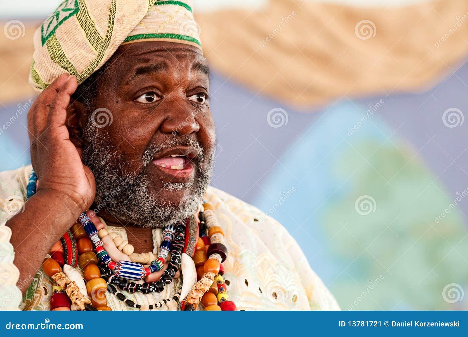 Αφρικανική ομιλία αφηγητών