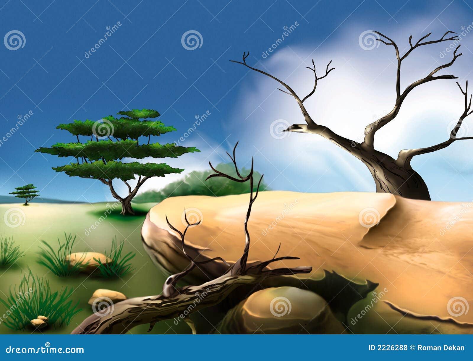 αφρικανικός θάμνος