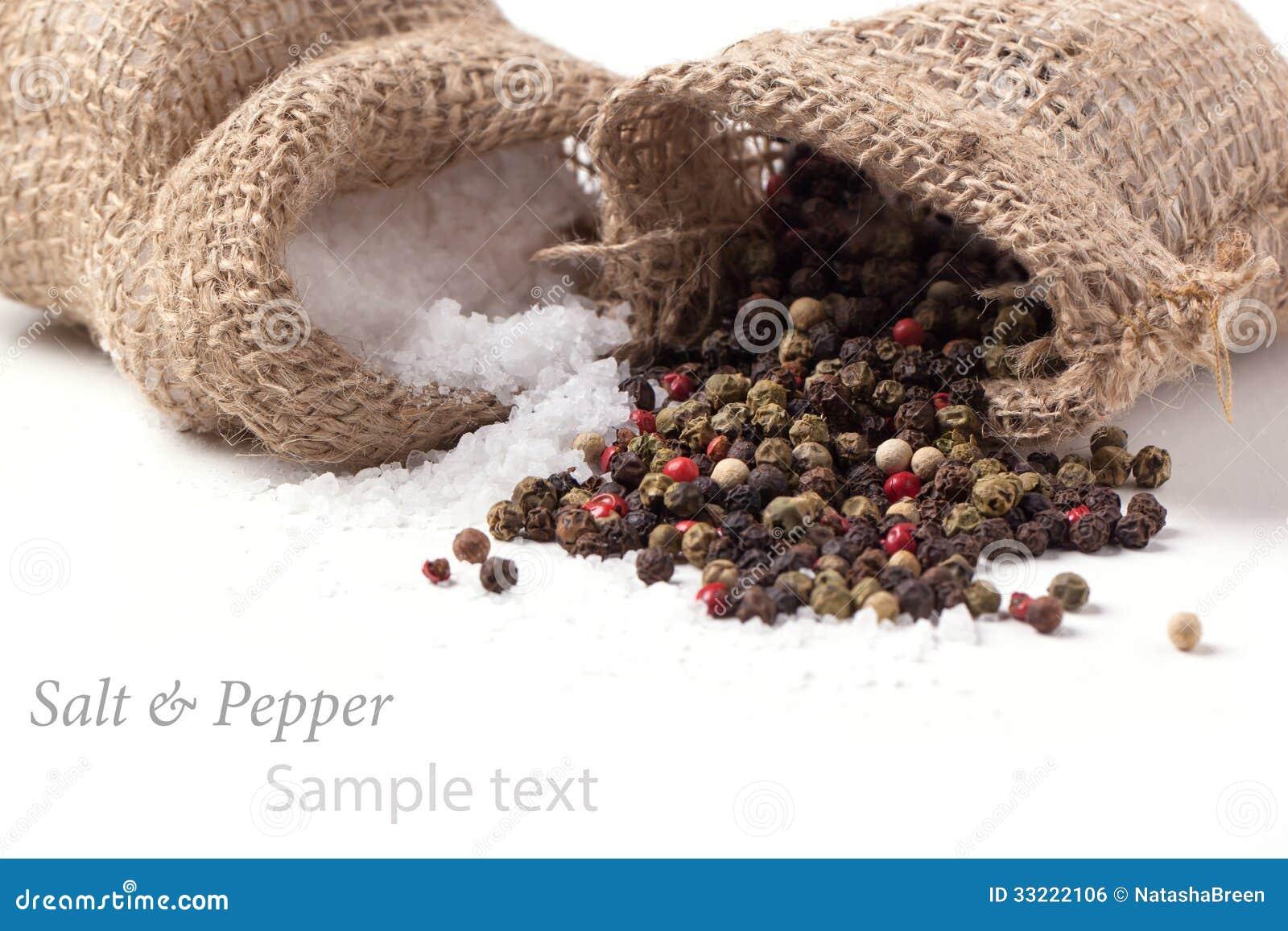 Αλάτι και πιπέρι διεσπαρμένα
