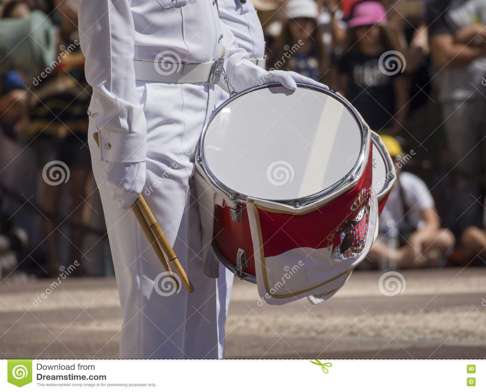 Αλλαγή φρουράς σε Prince& x27 παλάτι του s του Μονακό