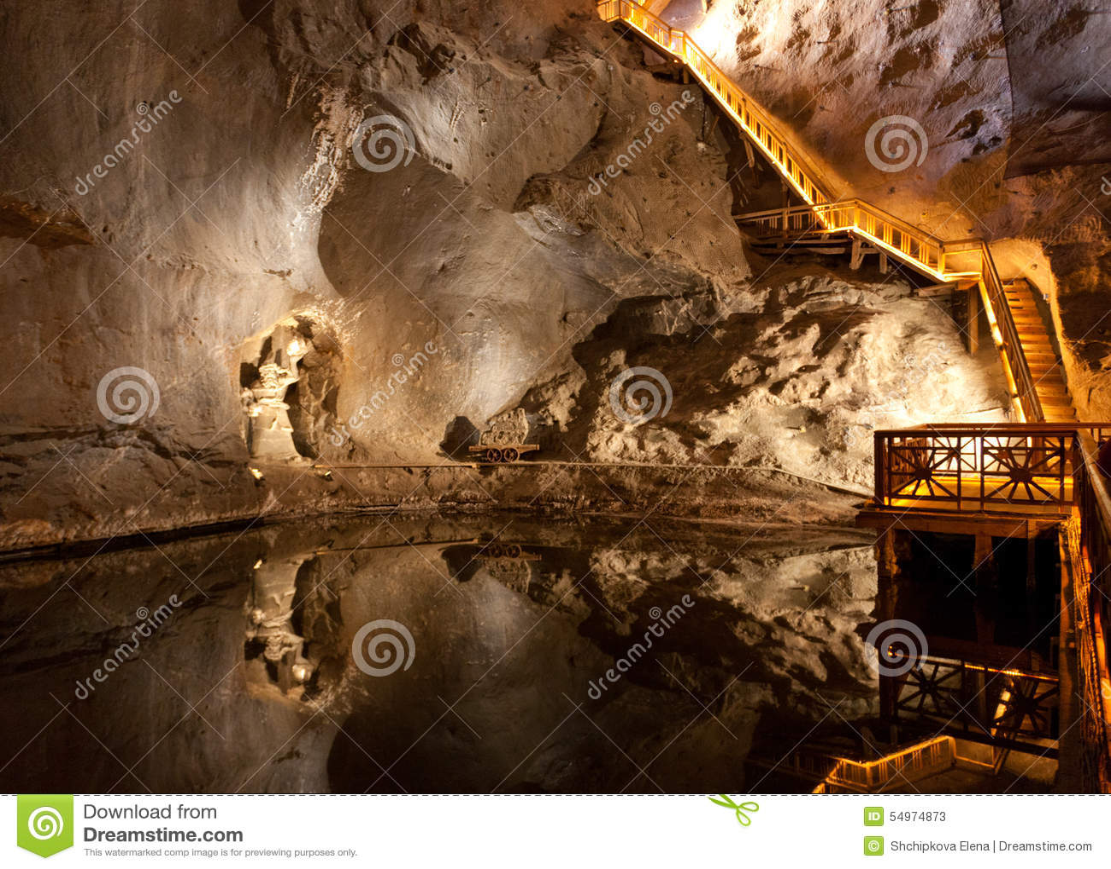 αλατισμένο wieliczka ορυχείων