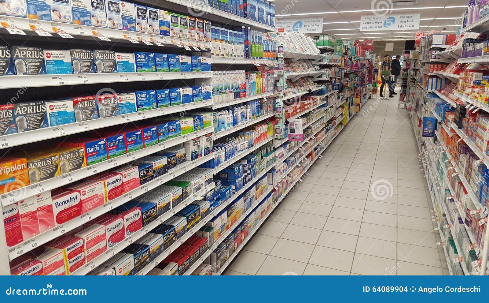 αλλεργία Φάρμακα στο φαρμακείο