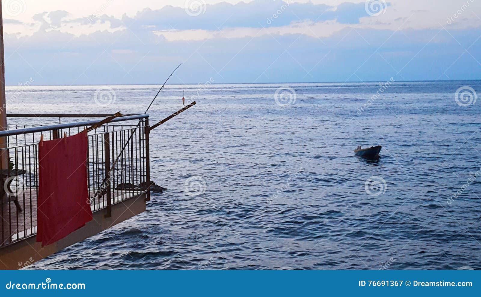 Αλιεία από το σπίτι