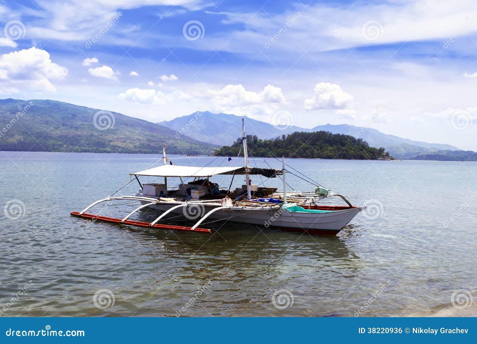 Αλιευτικό σκάφος των Φιλιππινών.