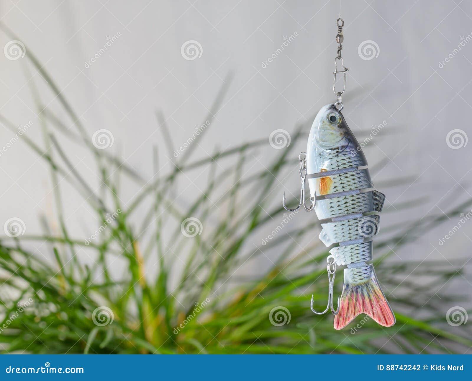 Αλιεύοντας θέλγητρα εξοπλισμών και αλιείας