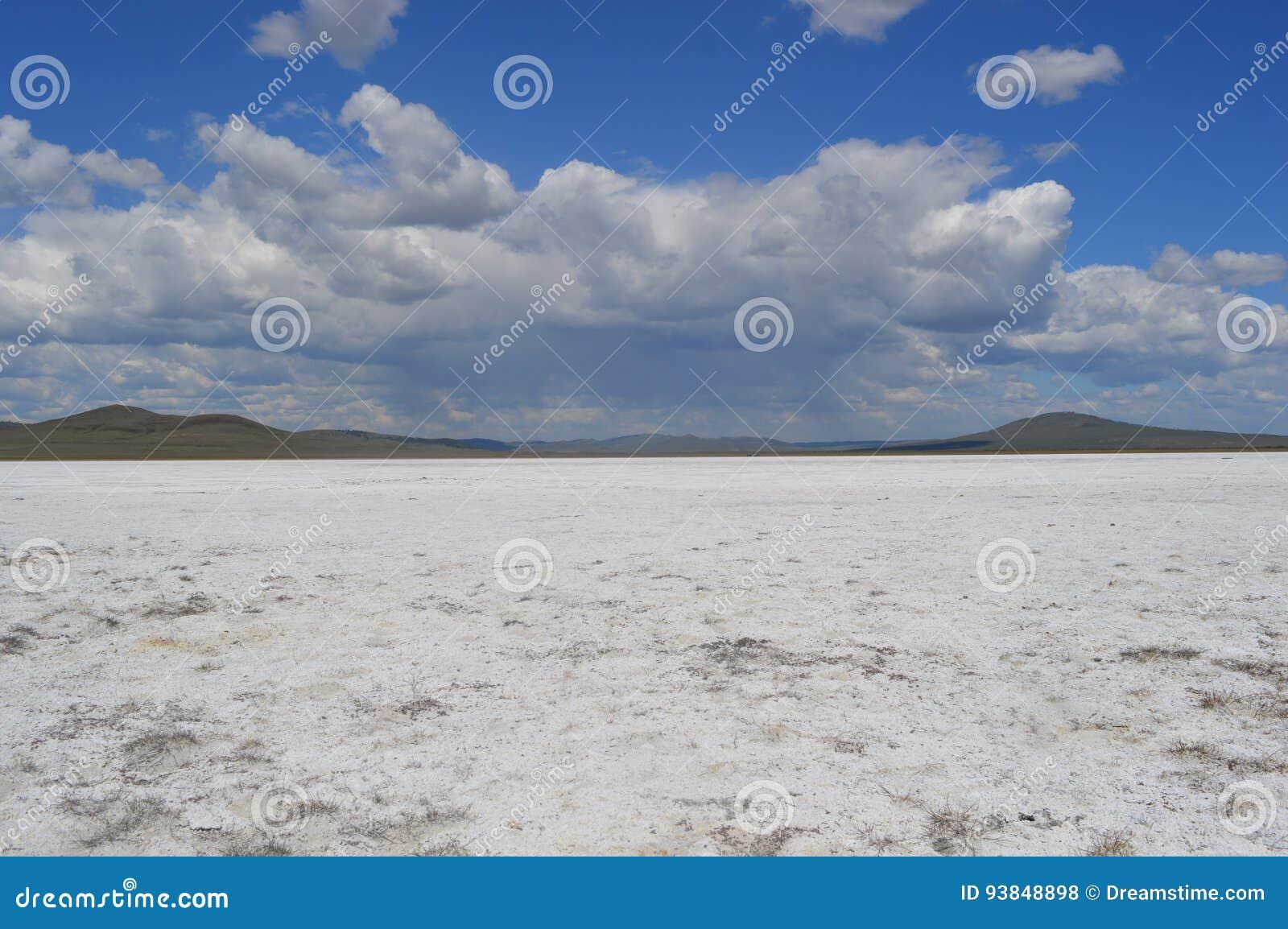 Αλμυρή λίμνη ουρανών
