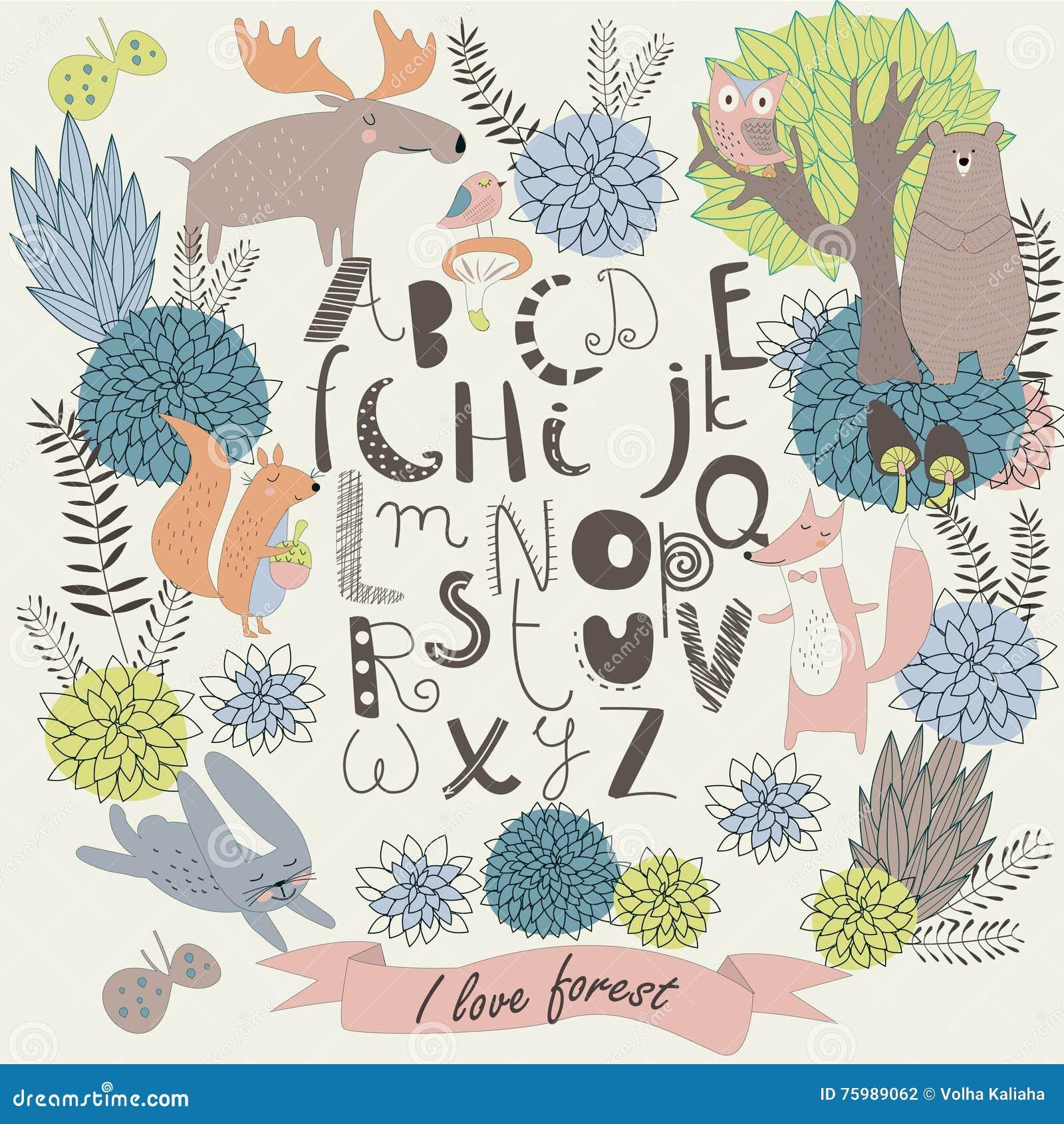 Αλφάβητο ζωολογικών κήπων