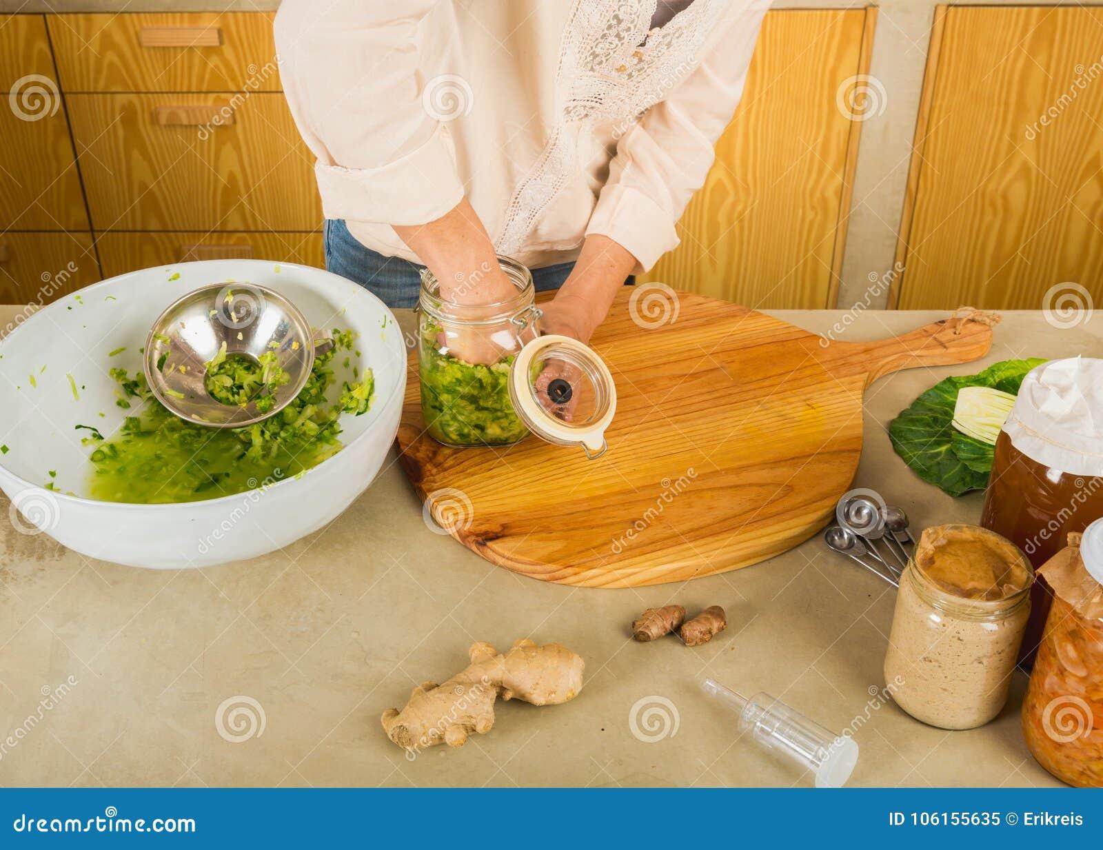 Βάζα του kimchi