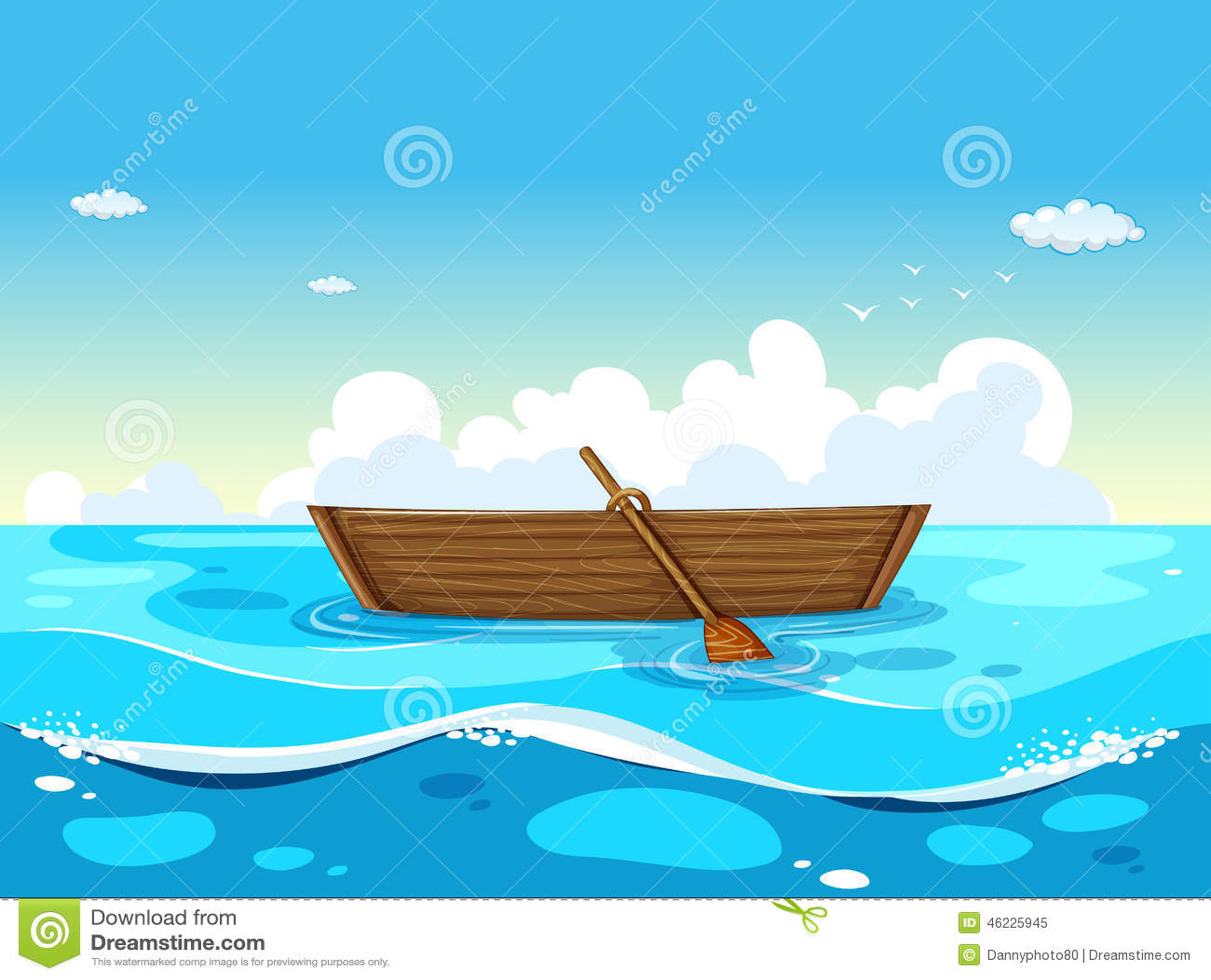 Βάρκα και ωκεανός