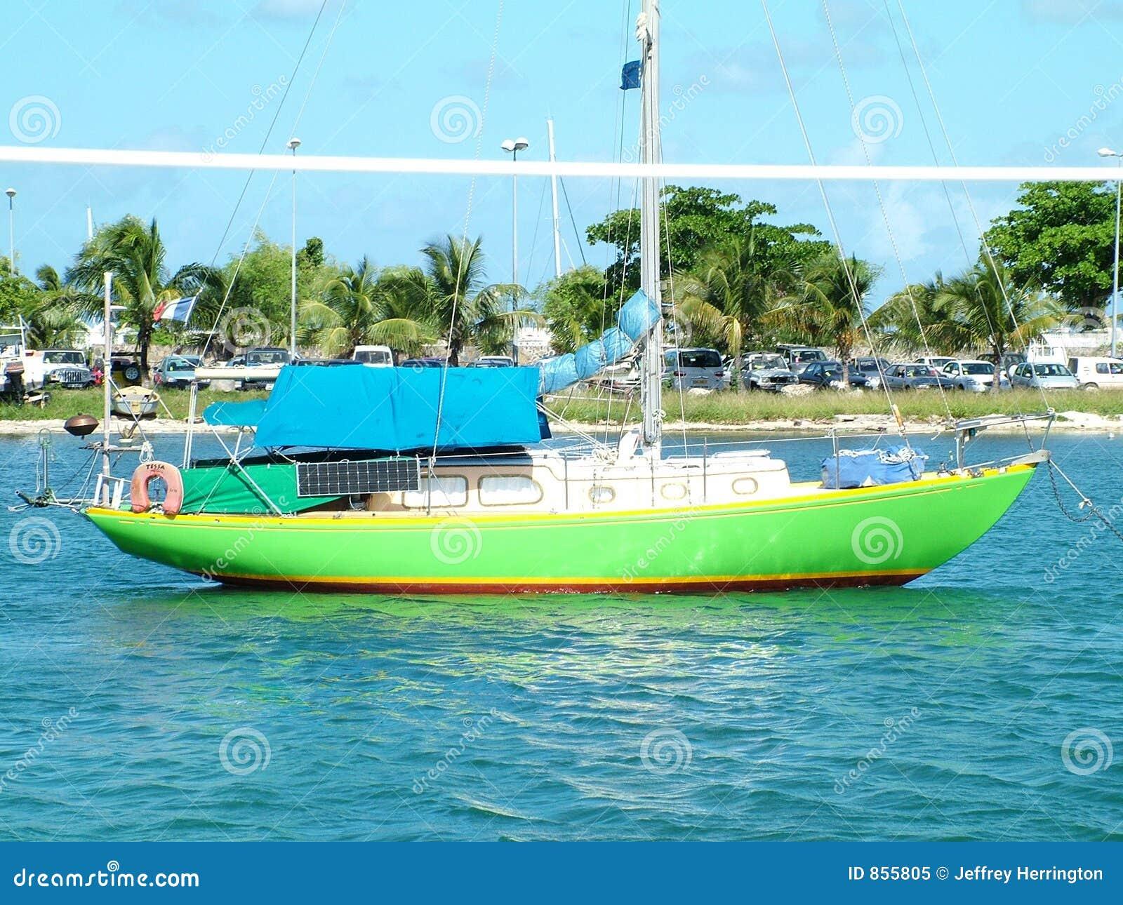 βάρκα πράσινη