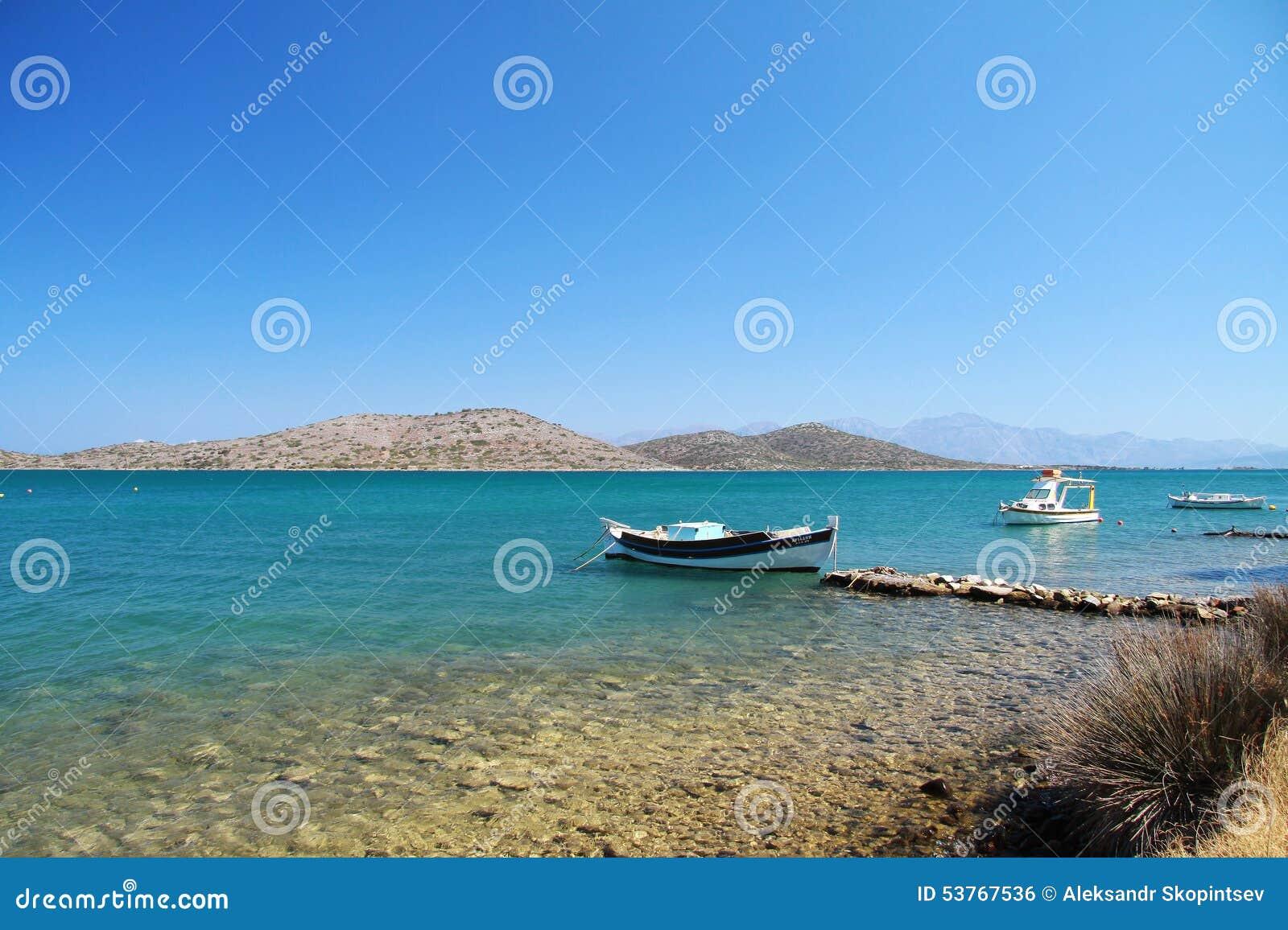 Βάρκα στον κόλπο