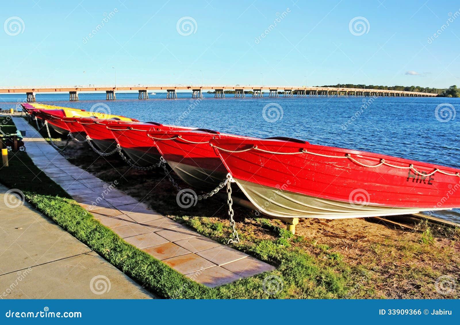 Βάρκες νησιών Bribie