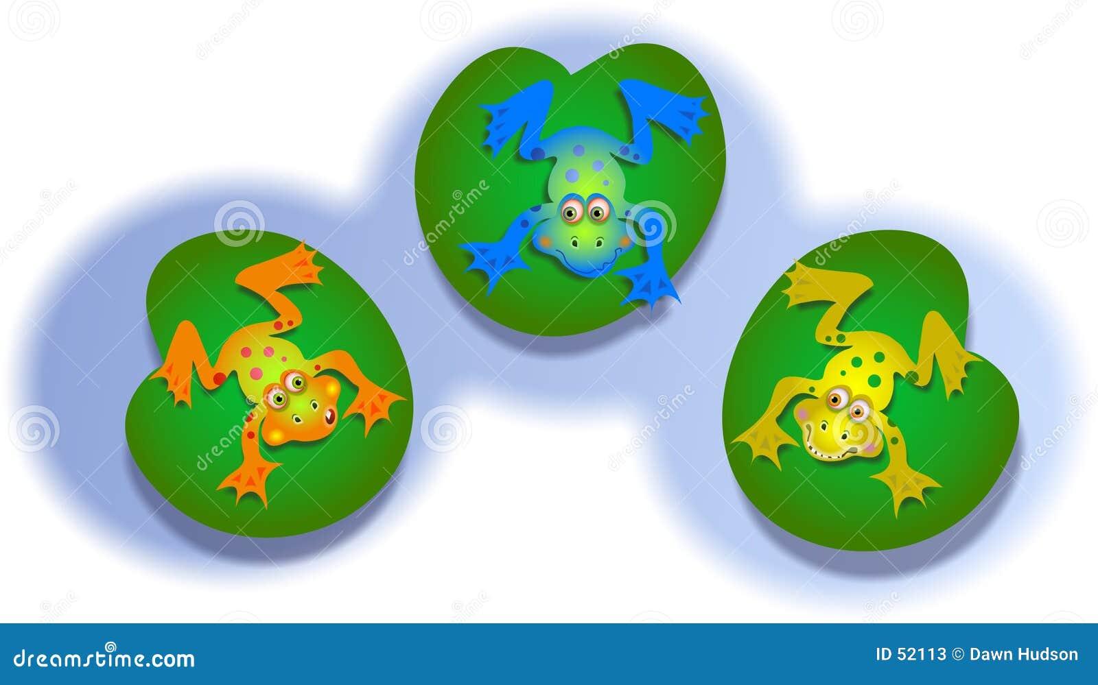 Download βάτραχοι απεικόνιση αποθεμάτων. εικονογραφία από βάτραχοι - 52113