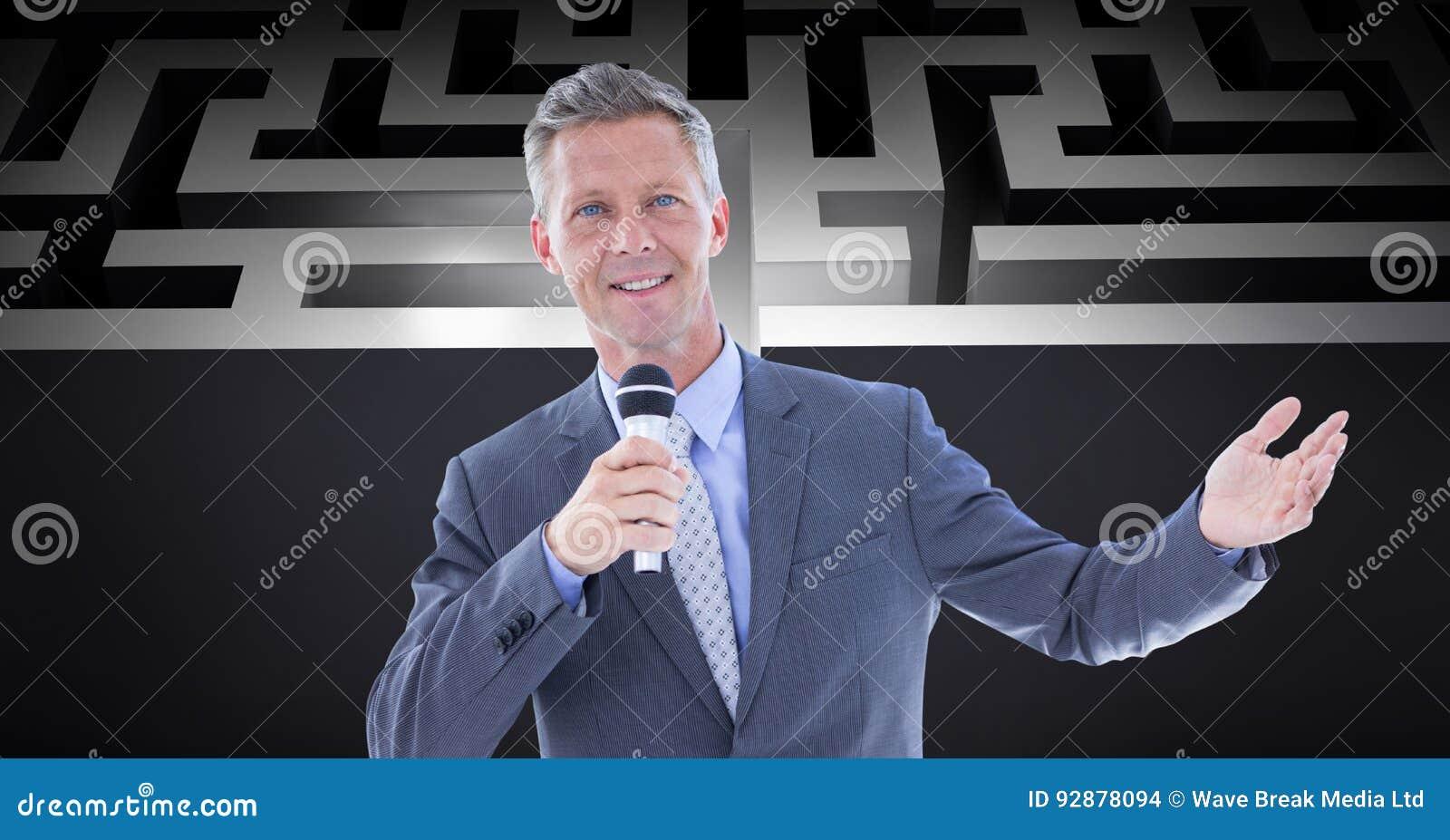 Βέβαιο μικρόφωνο εκμετάλλευσης επιχειρηματιών ενάντια στο λαβύρινθο