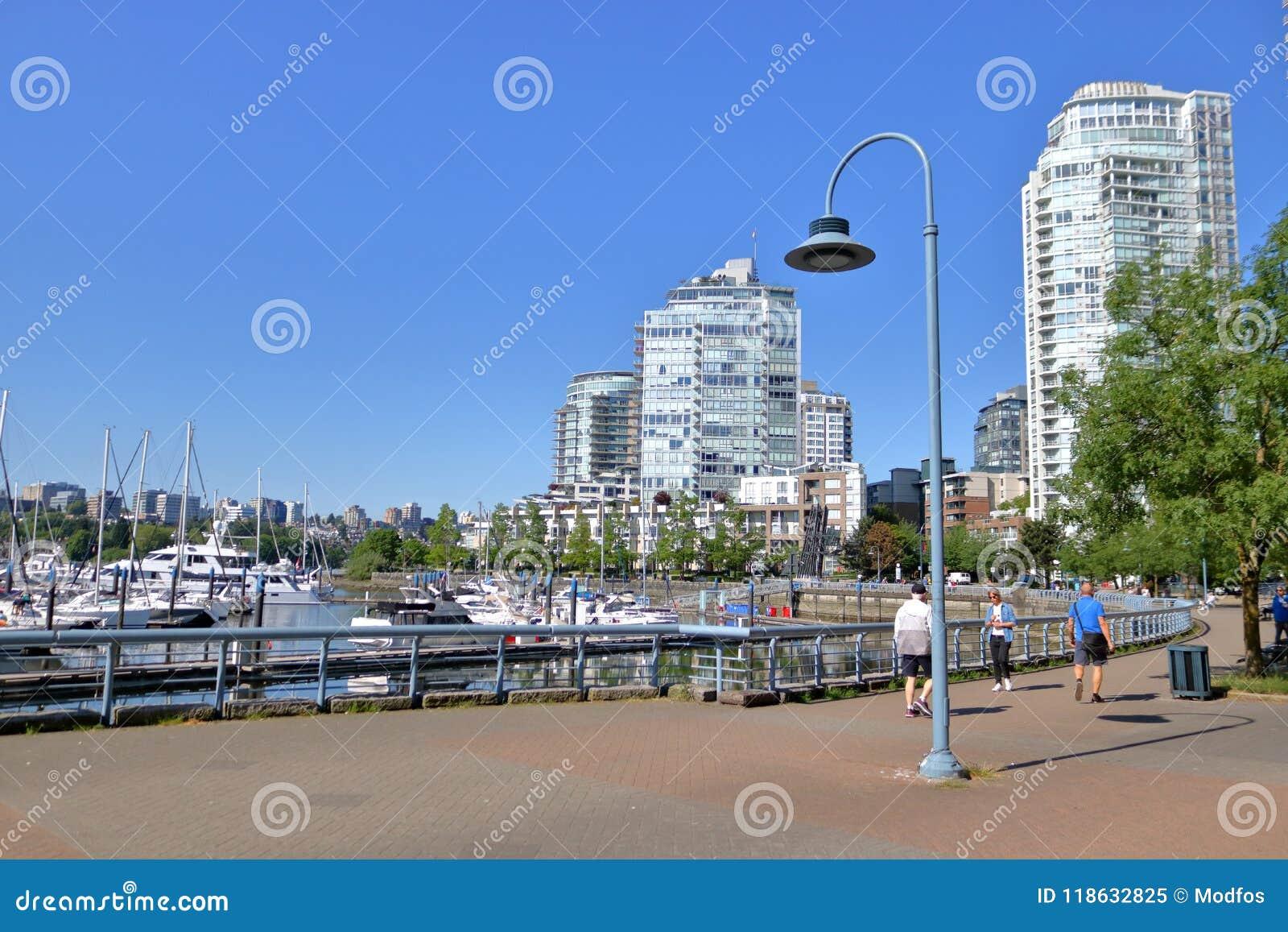 Βανκούβερ, Καναδάς και στο κέντρο της πόλης Seawall