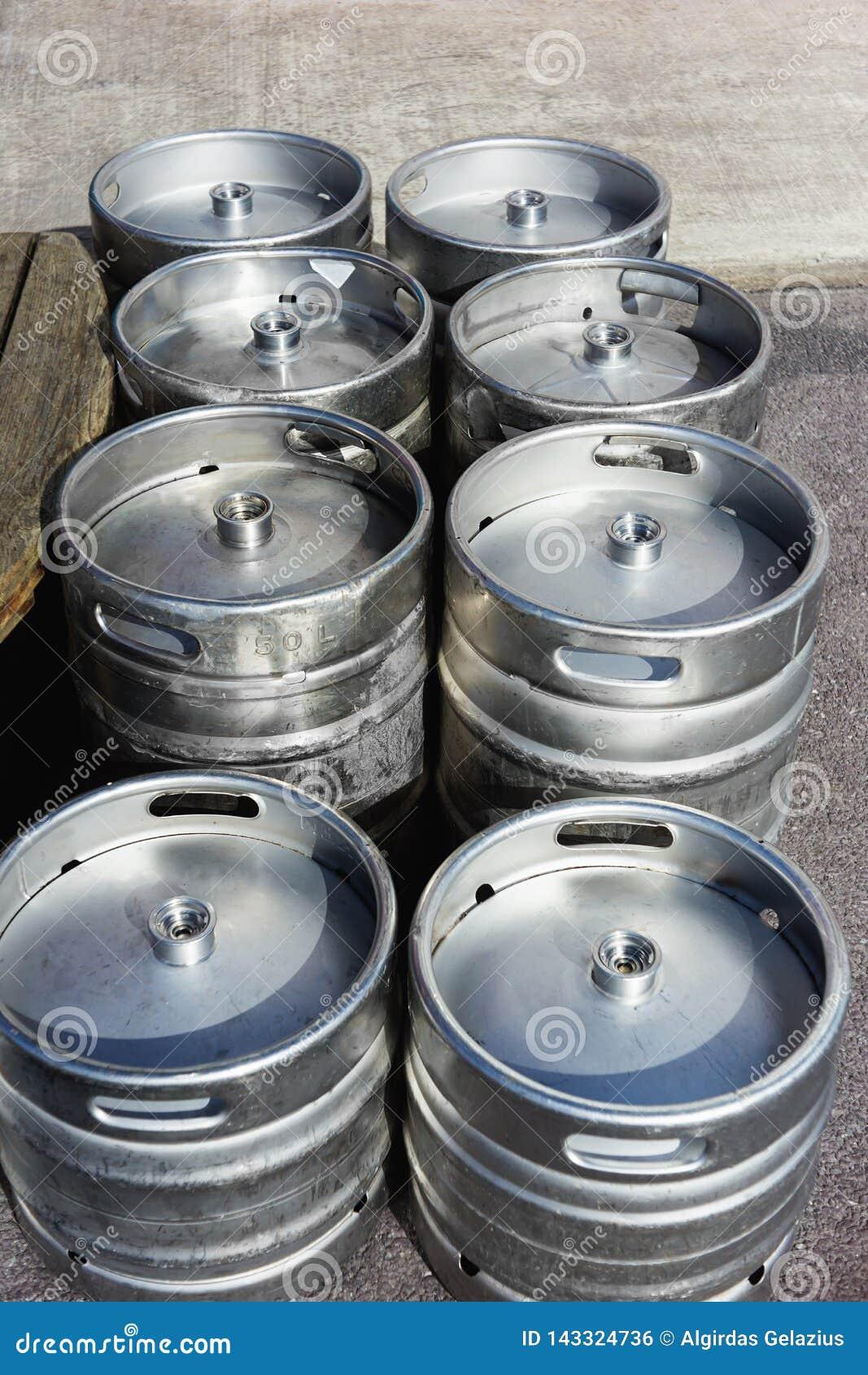 Βαρέλια μπύρας αργιλίου