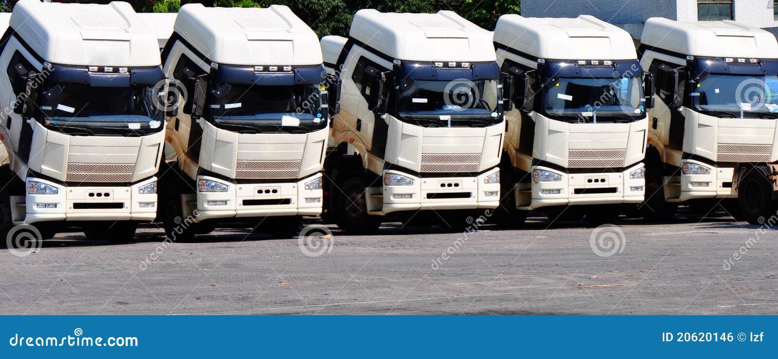βαριά truck σειρών
