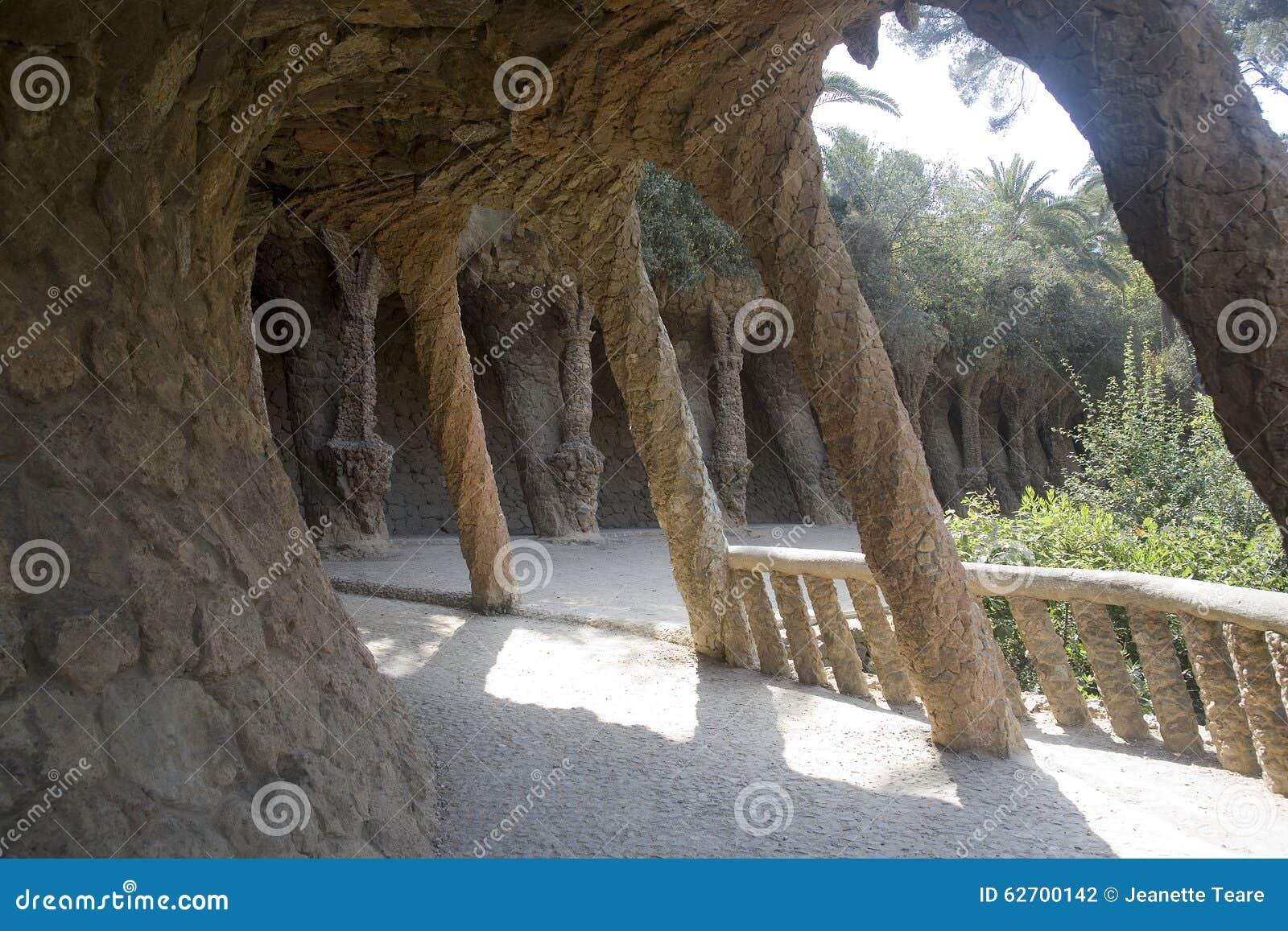 Βαρκελώνη guell parc