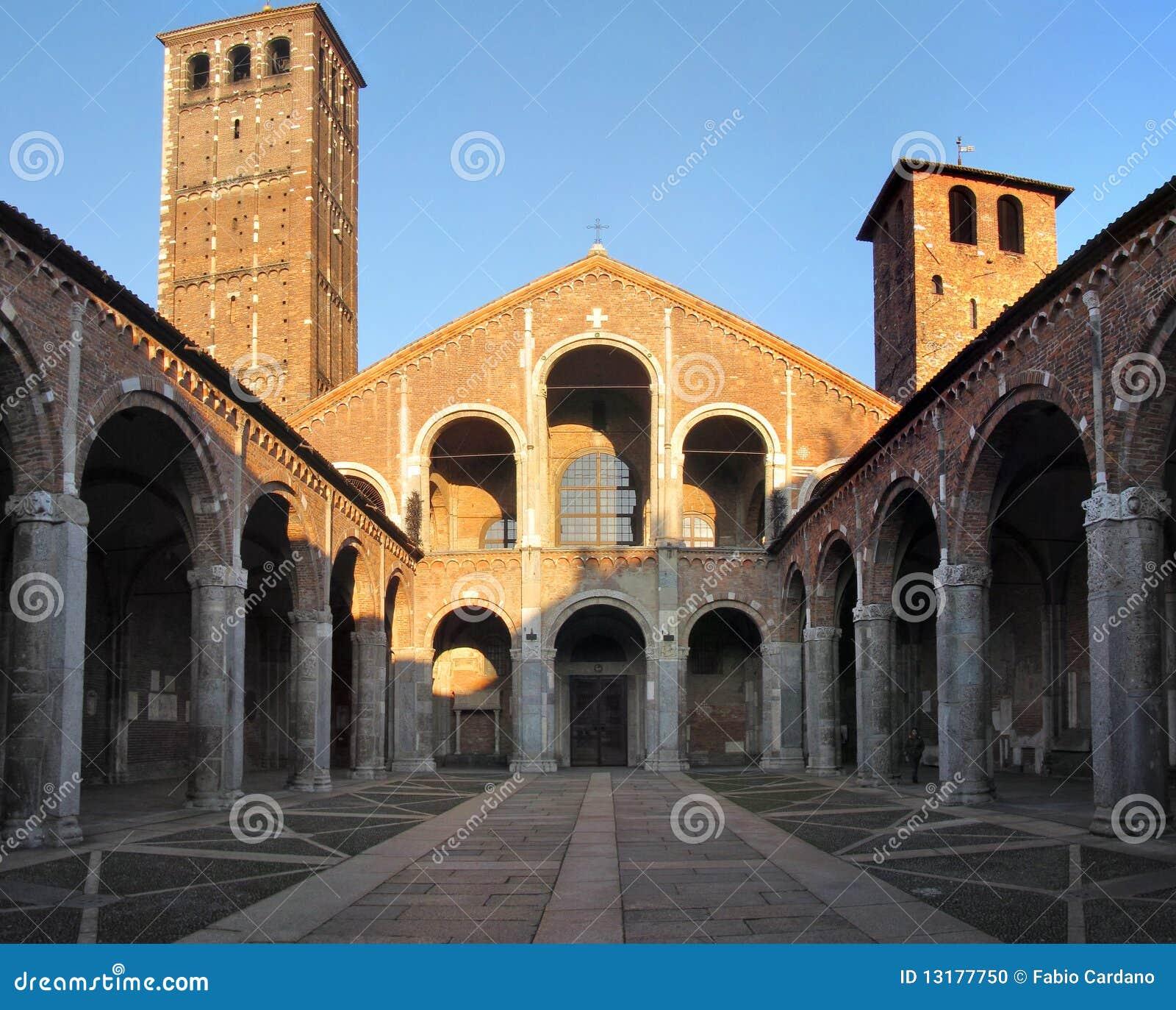 βασιλική του Ambrogio sant
