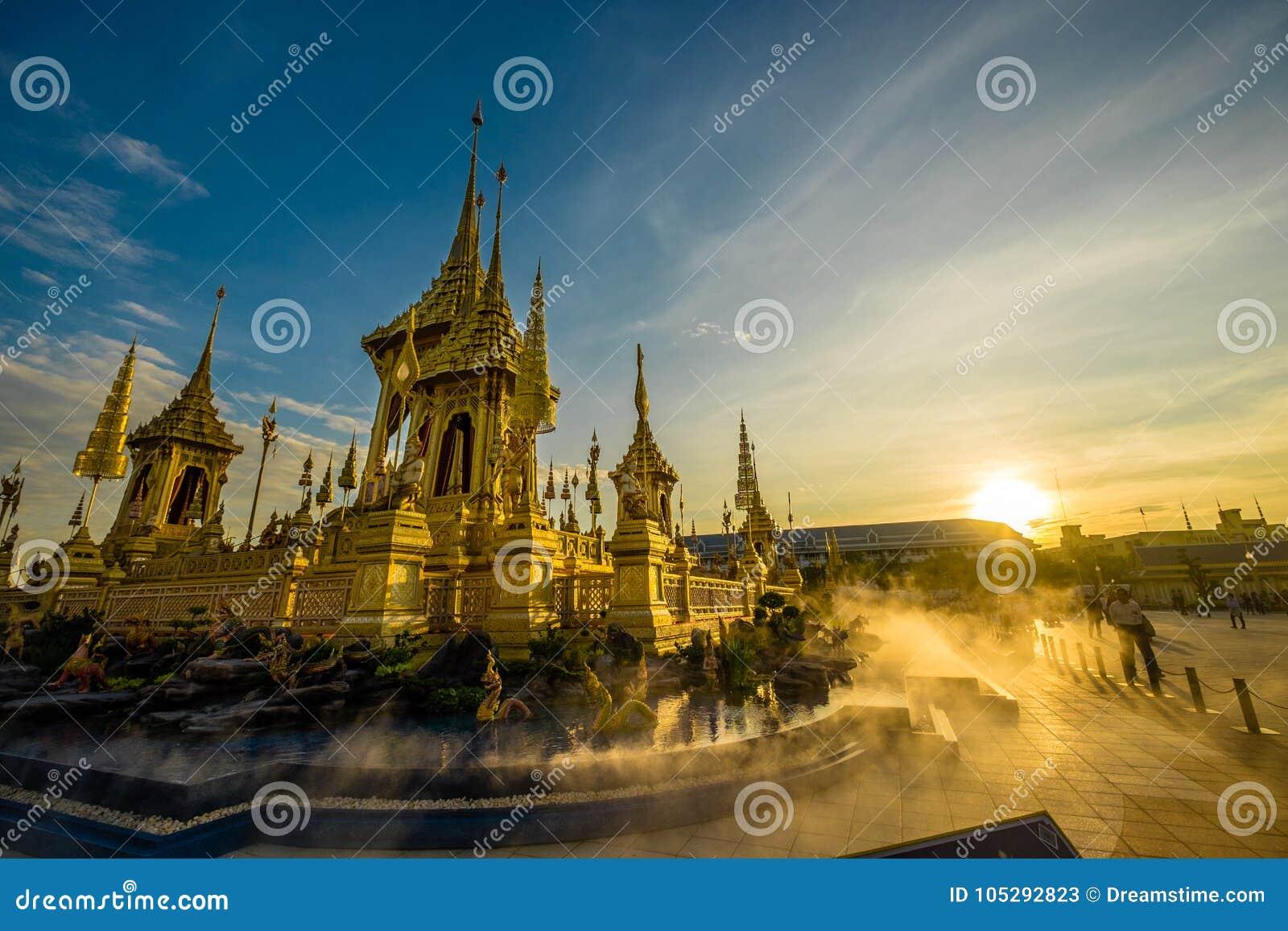 Βασιλικό κρεματόριο του βασιλιά Rama ΙΧ στην Ταϊλάνδη