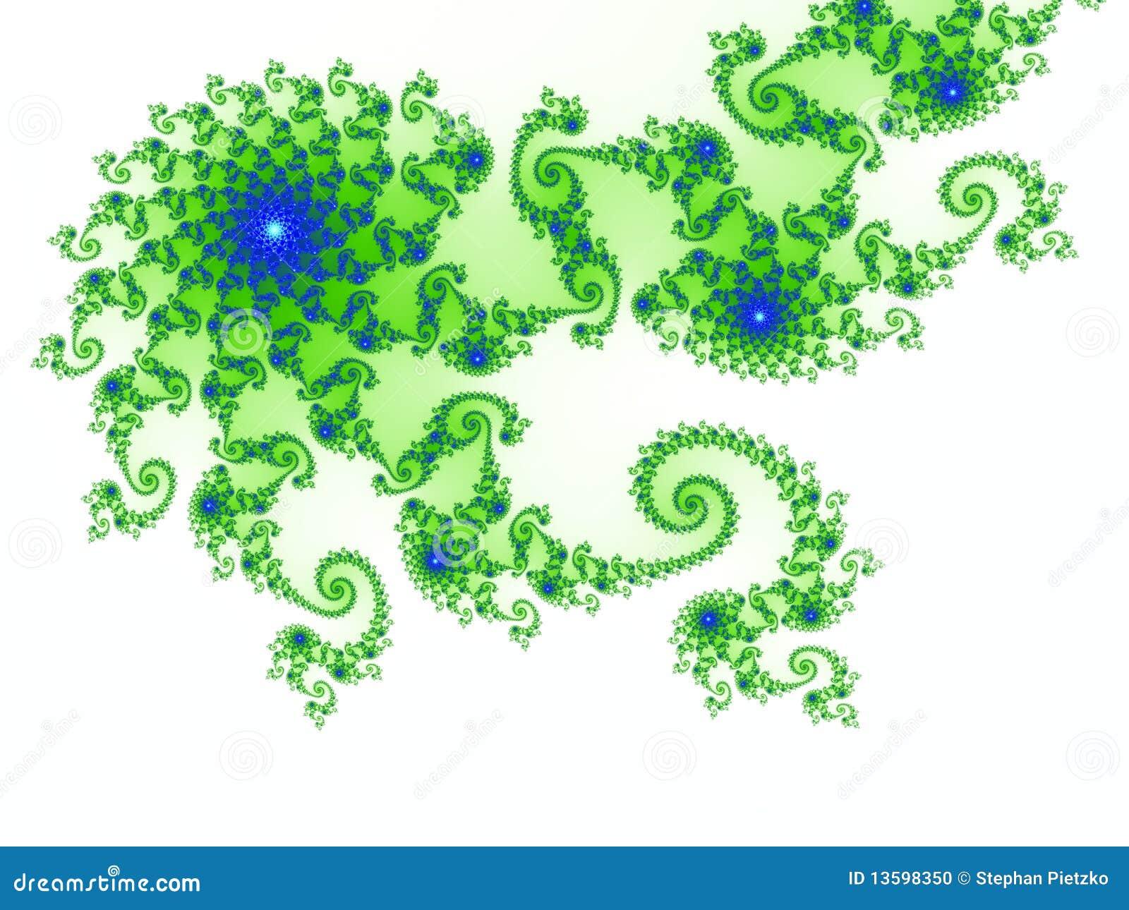 βασισμένο fractal σχεδίου σύνο&