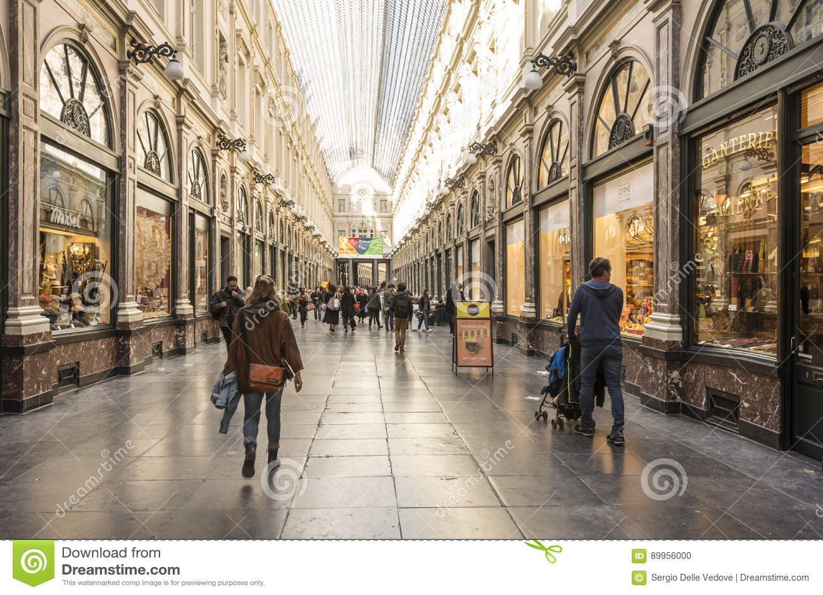 Βασιλική στοά Άγιος-Hubert στις Βρυξέλλες