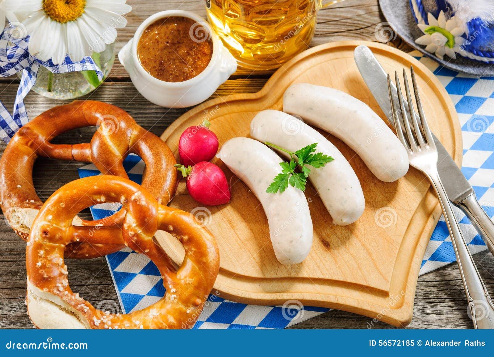 Download Βαυαρικό λουκάνικο μοσχαρίσιων κρεάτων Στοκ Εικόνα - εικόνα από φάτε, party: 56572185