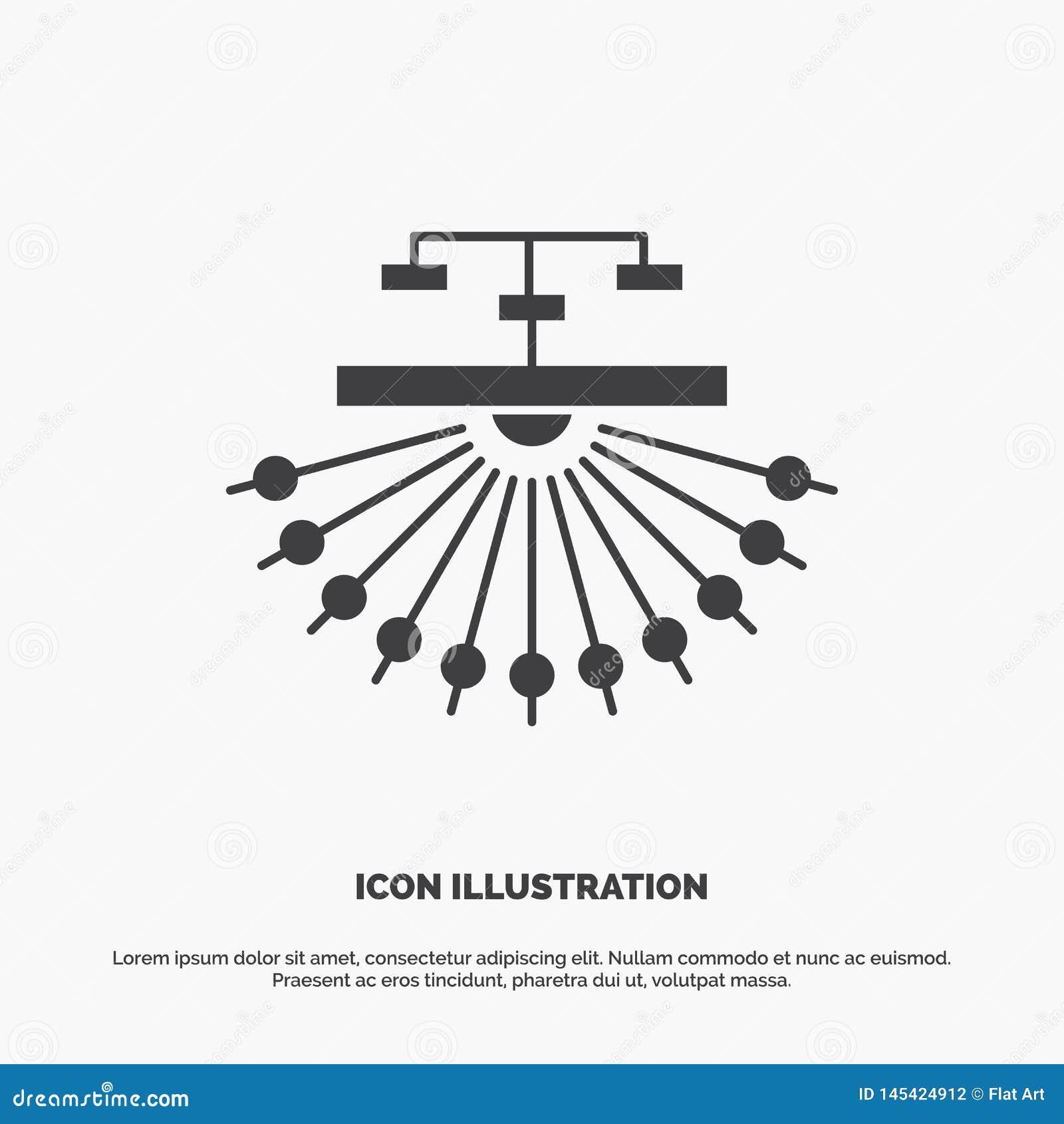 βελτιστοποίηση, περιοχή, περιοχή, δομή, εικονίδιο Ιστού glyph διανυσματικό γκρίζο σύμβολο για UI και UX, τον ιστοχώρο ή την κινητ