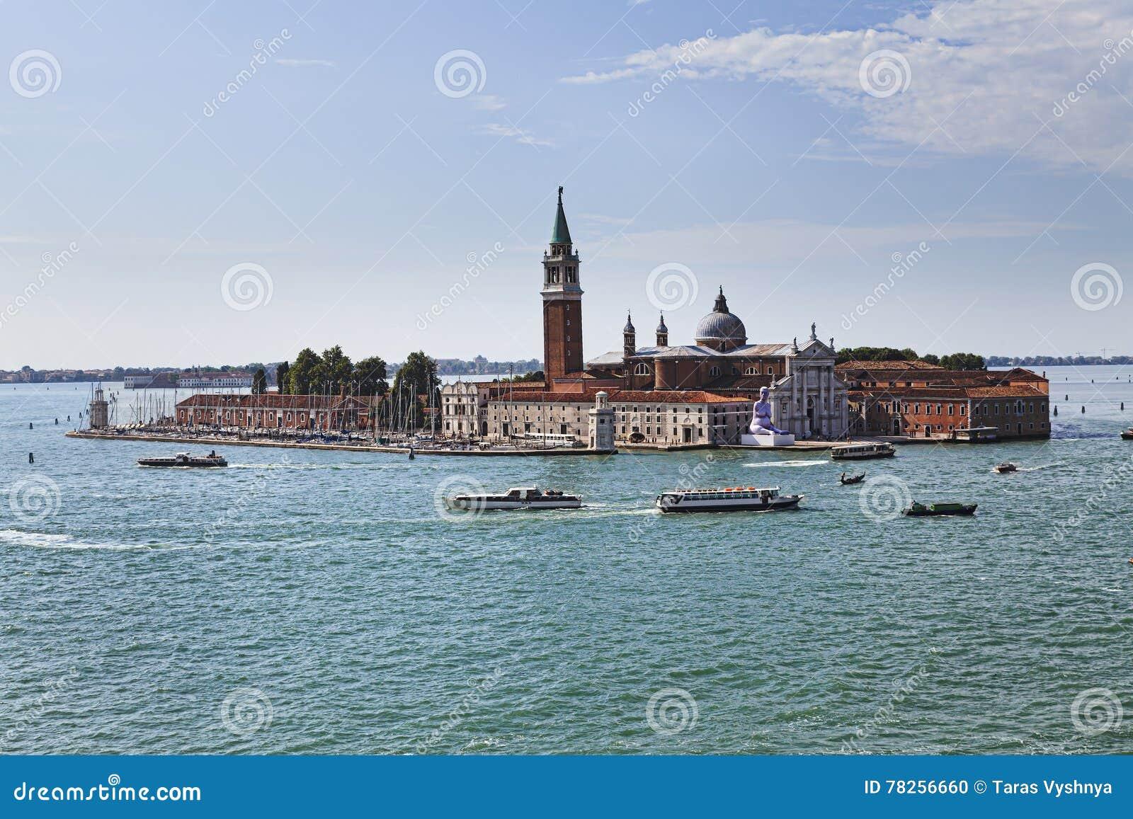 Βενετία SAN Giorgio επάνω από την ημέρα