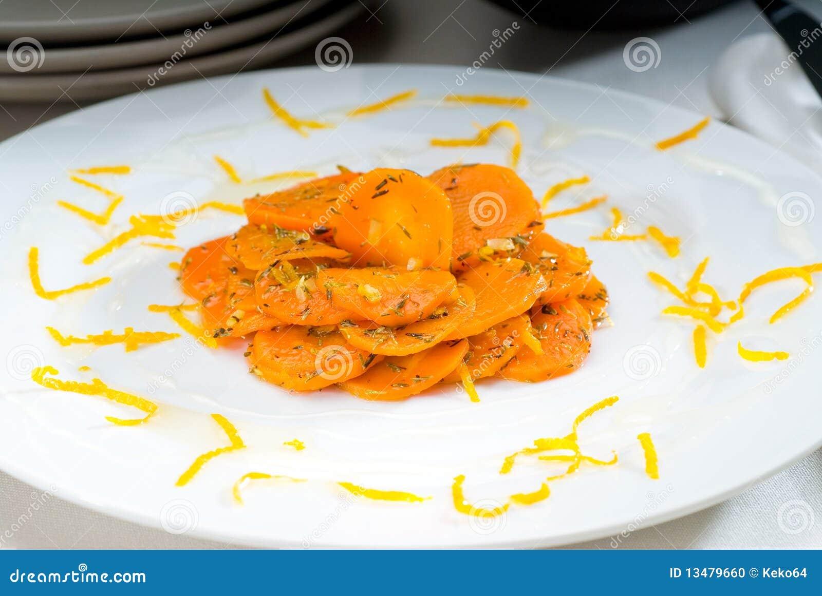 βερνικωμένο καρότα μέλι