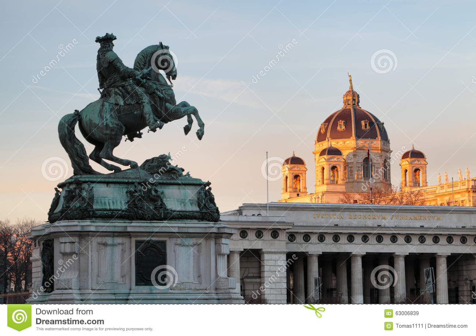 Βιέννη/Wien, Αυστρία - μνημείο αλόγων και αναβατών