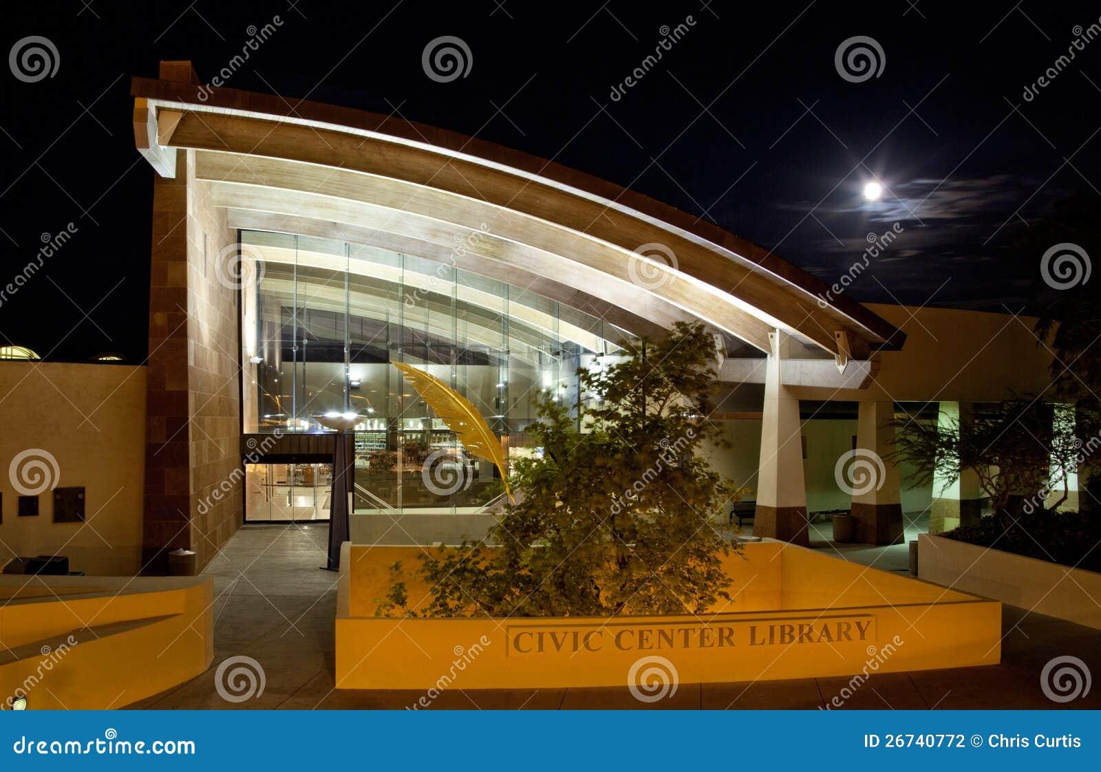 Βιβλιοθήκη πολιτικού κέντρου Scottsdale