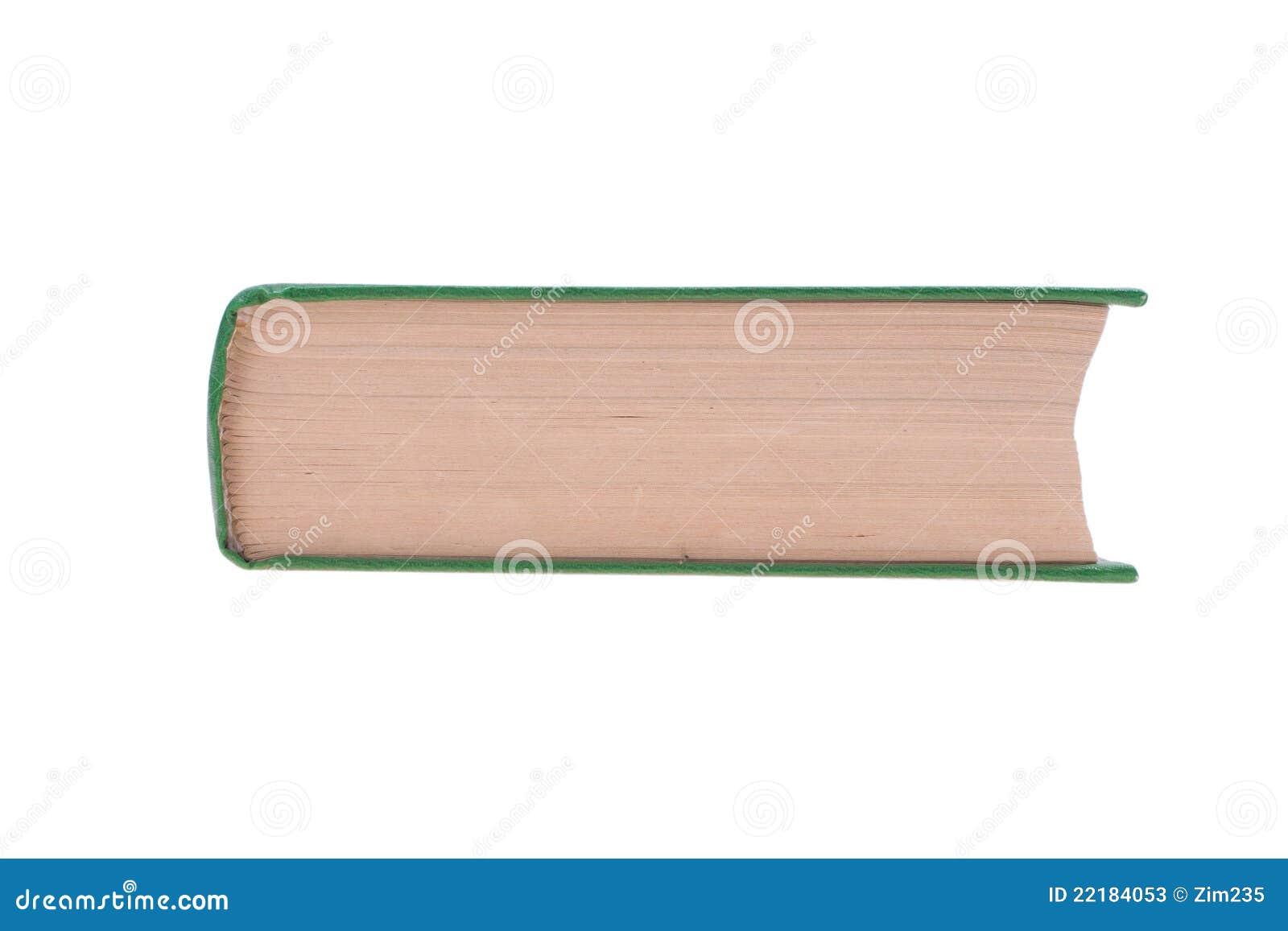 Βιβλίο που απομονώνεται σε ένα άσπρο υπόβαθρο