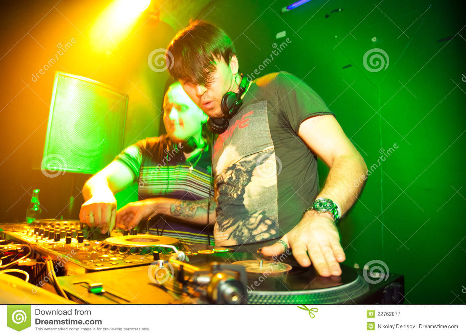 Βινύλιο παιχνιδιού του DJ