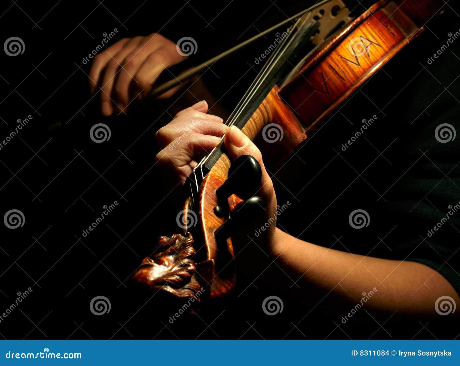 Βιολί παιχνιδιού μουσικών